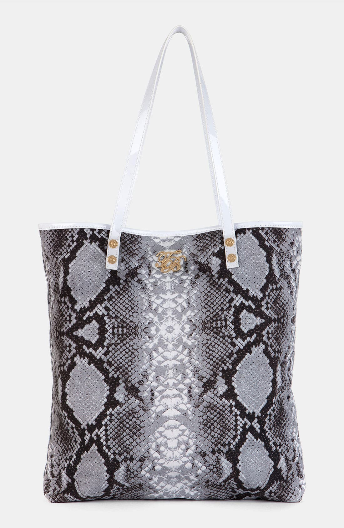 Alternate Image 1 Selected - Ted Baker London 'Retula' Canvas Shopper