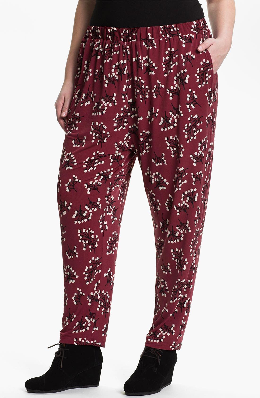 Main Image - Evans 'Mimosa' Pants (Plus Size)