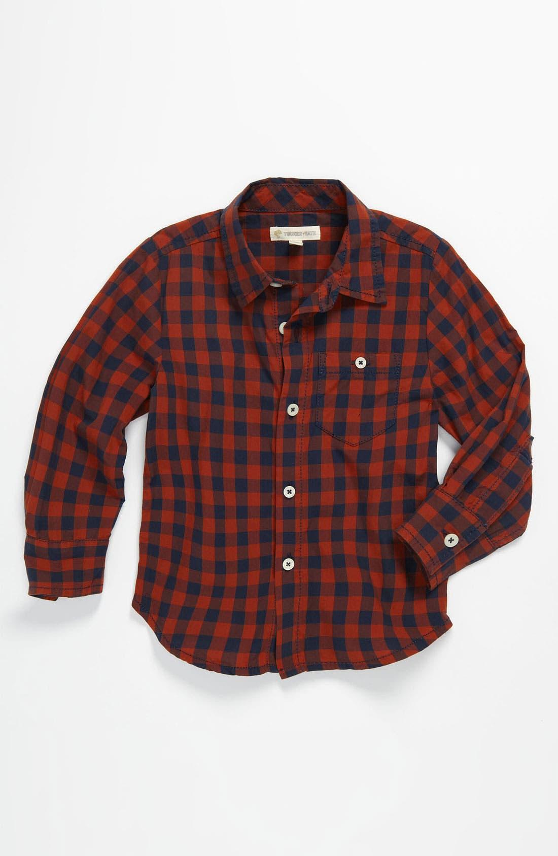 Main Image - Tucker + Tate 'Allister' Poplin Shirt (Toddler)