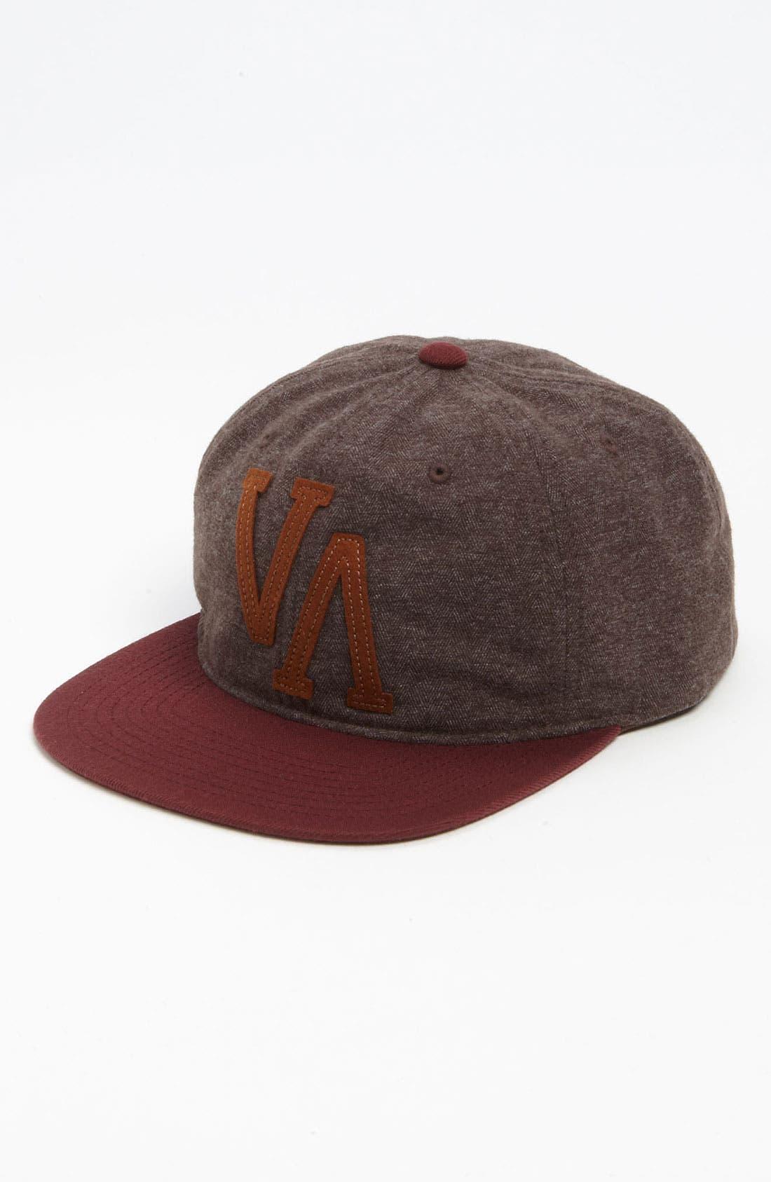 Alternate Image 1 Selected - RVCA 'Old Gold' Snapback Baseball Cap
