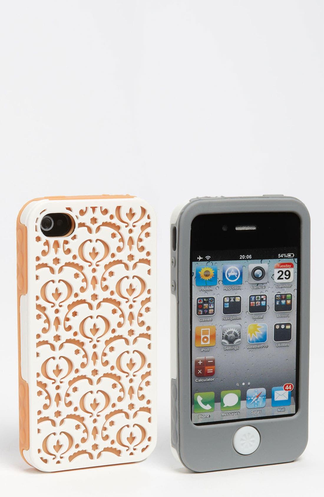 Main Image - Tech Candy 'Bordeaux' iPhone 4 Case Set