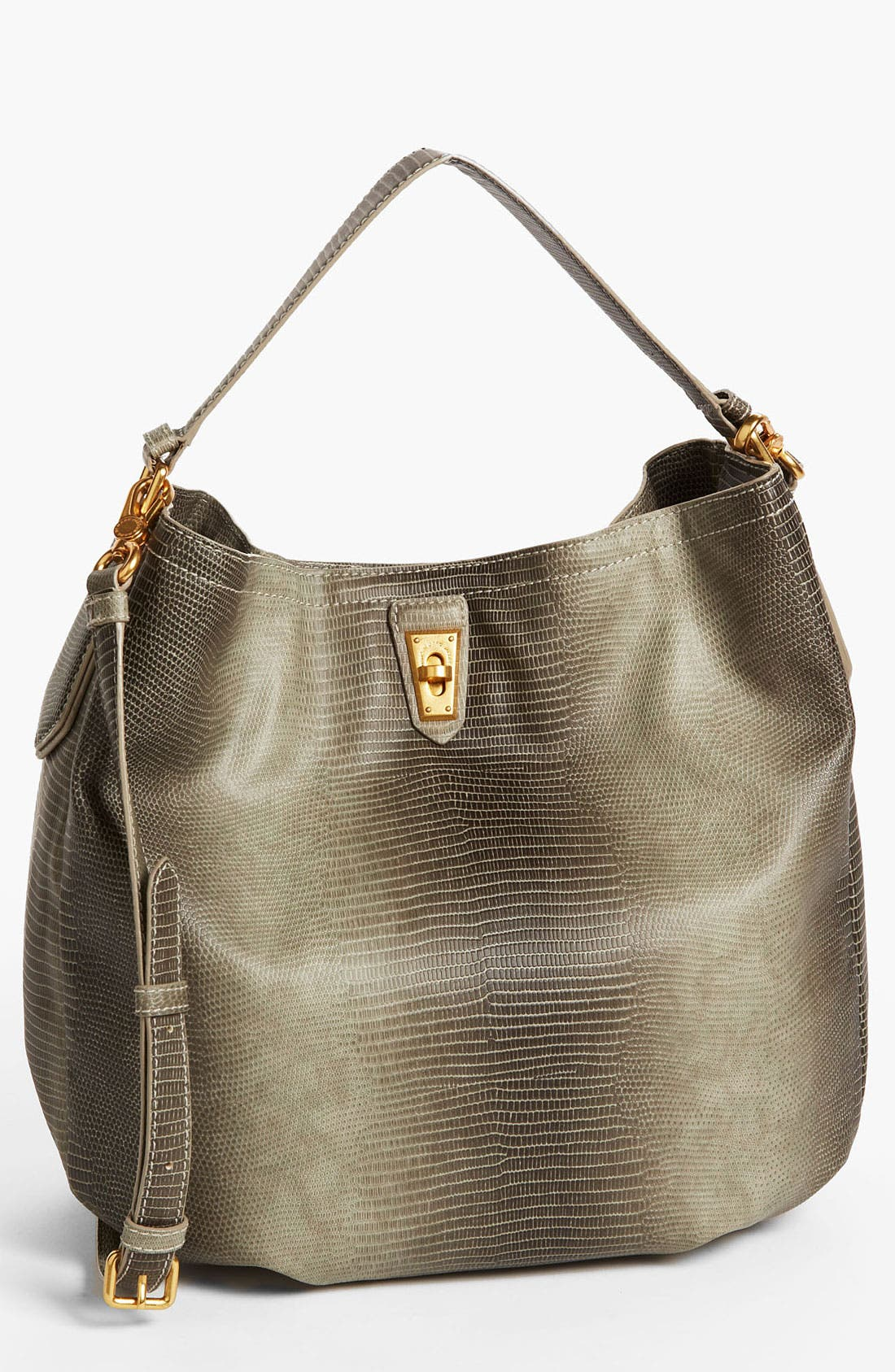 Alternate Image 1 Selected - MARC BY MARC JACOBS 'Lizzie' Embossed Hobo