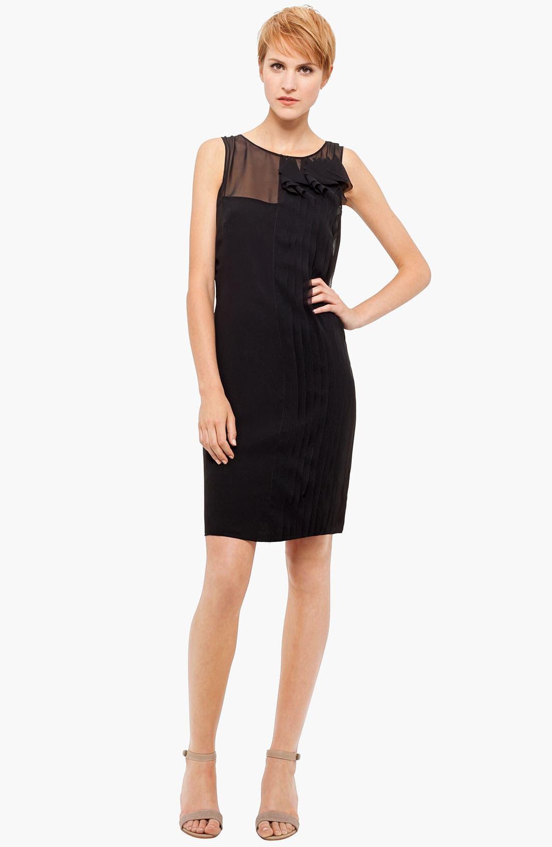 Main Image - Akris punto Techno Sleeveless Dress