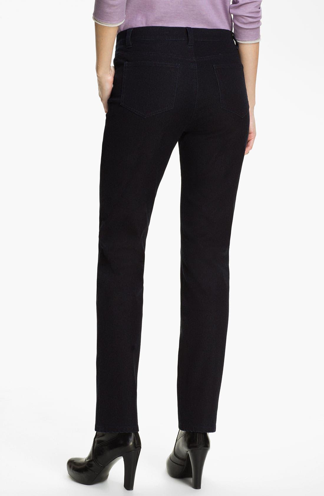 Alternate Image 6  - Lafayette 148 New York Slim Leg Curvy Stretch Jeans