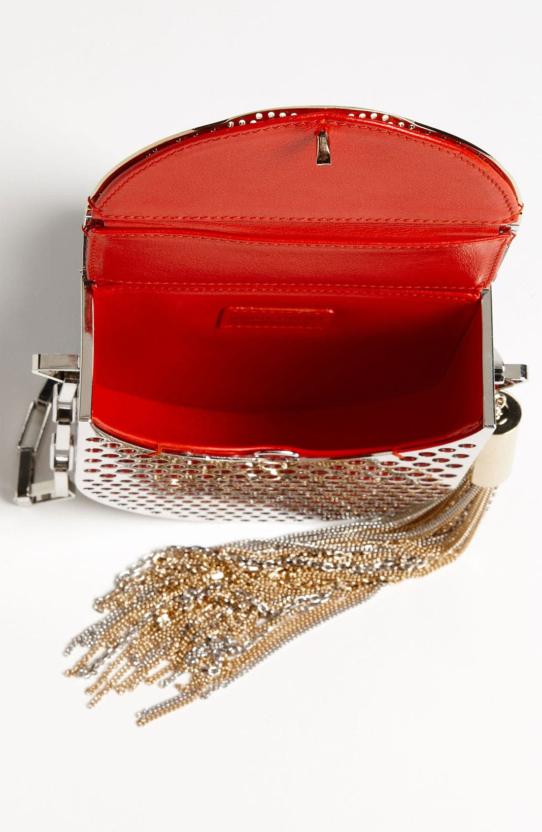 Alternate Image 3  - Jimmy Choo 'Milla' Metal Crossbody Bag