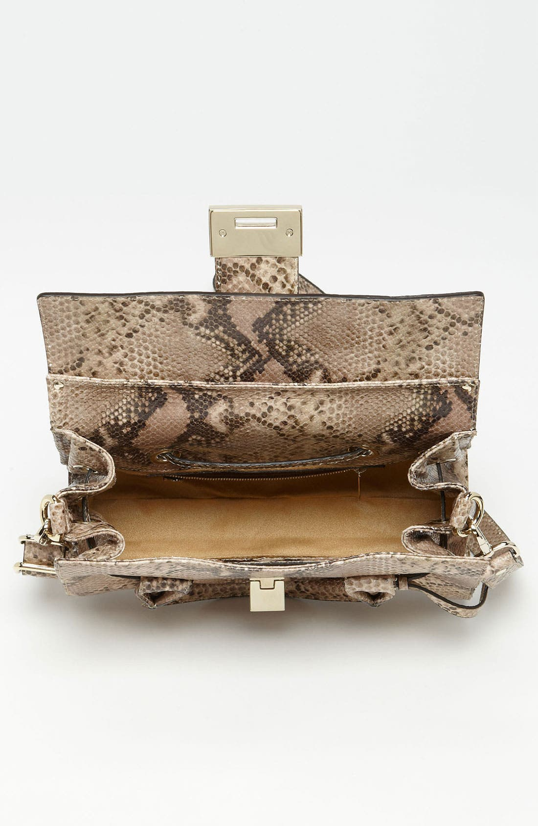 Alternate Image 3  - Jimmy Choo 'Rosalie' Snake Embossed Leather Satchel