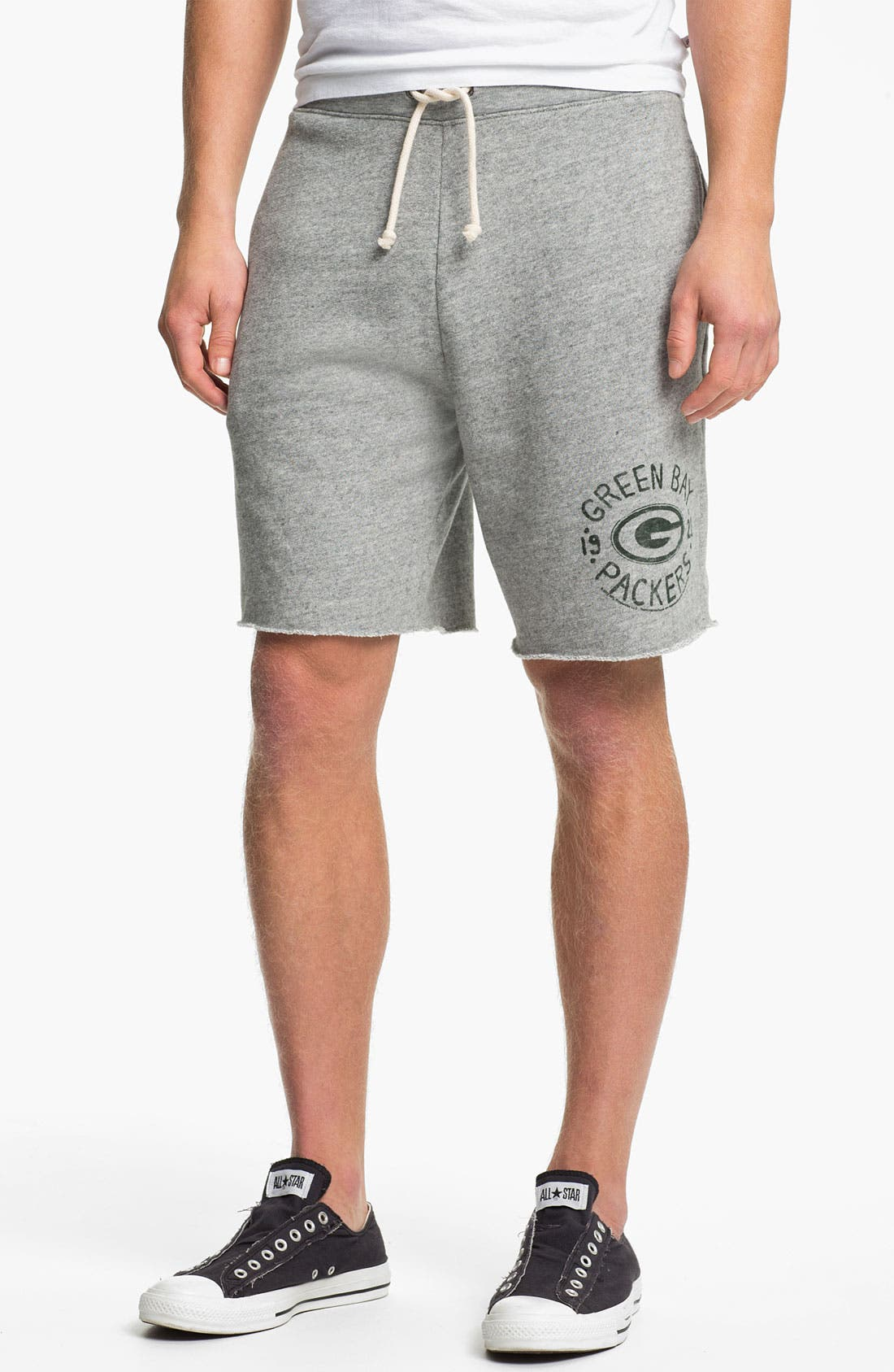 Alternate Image 1 Selected - Junk Food 'Green Bay Packers' Athletic Shorts