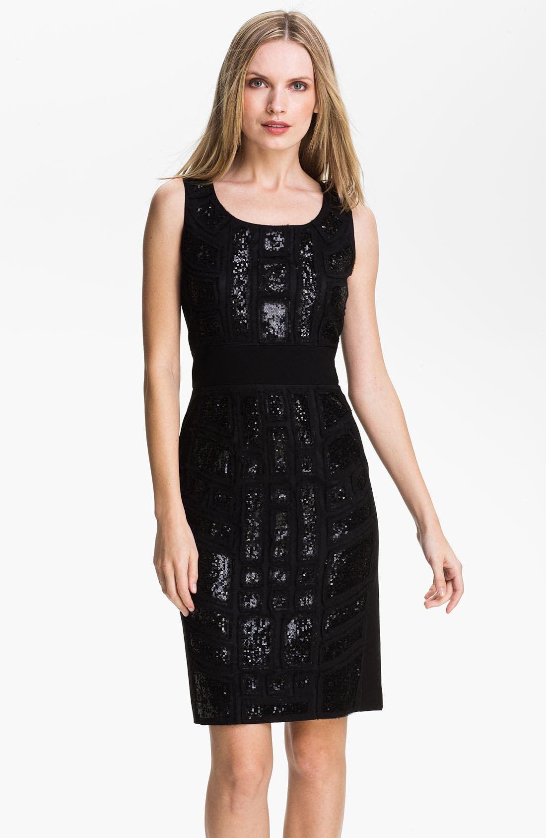 Main Image - Lafayette 148 New York 'Brooke' Embellished Dress