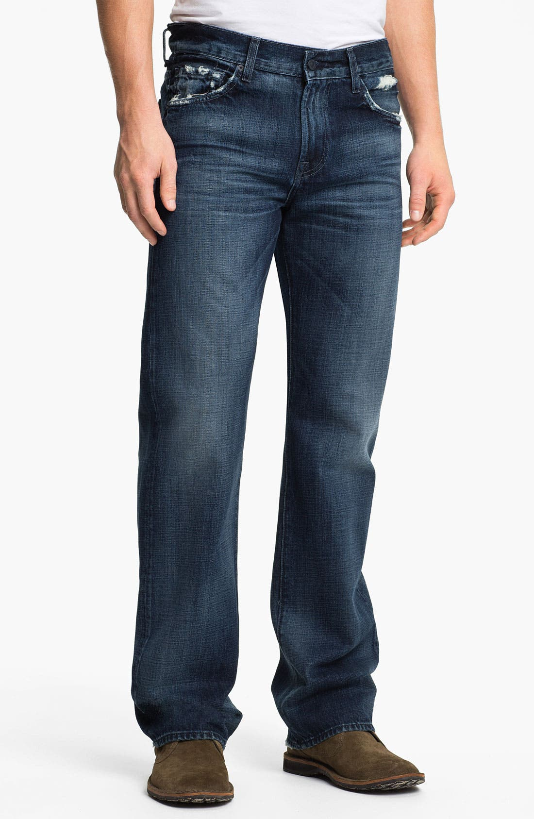 Alternate Image 2  - 7 For All Mankind® 'Austyn' Relaxed Straight Leg Jeans (Kool Nite)