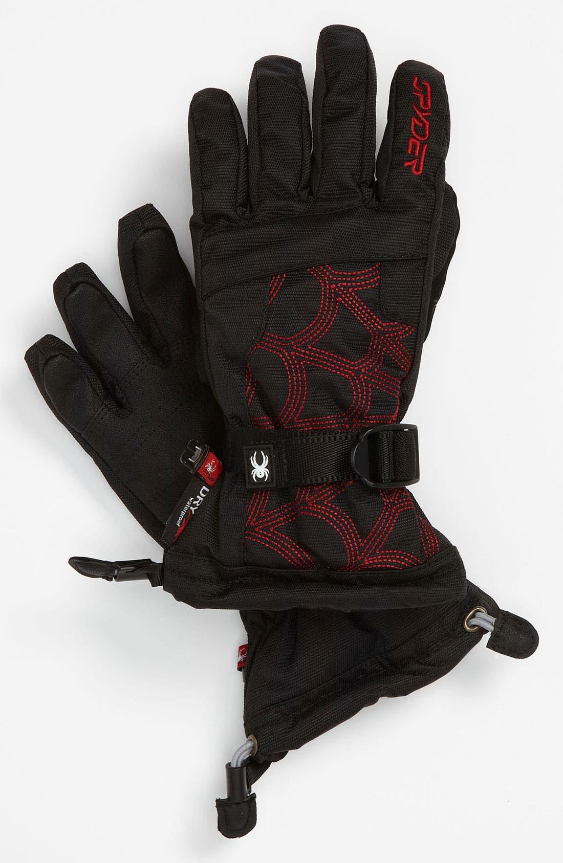 Alternate Image 1 Selected - Spyder 'Over Web' Ski Glove (Boys)