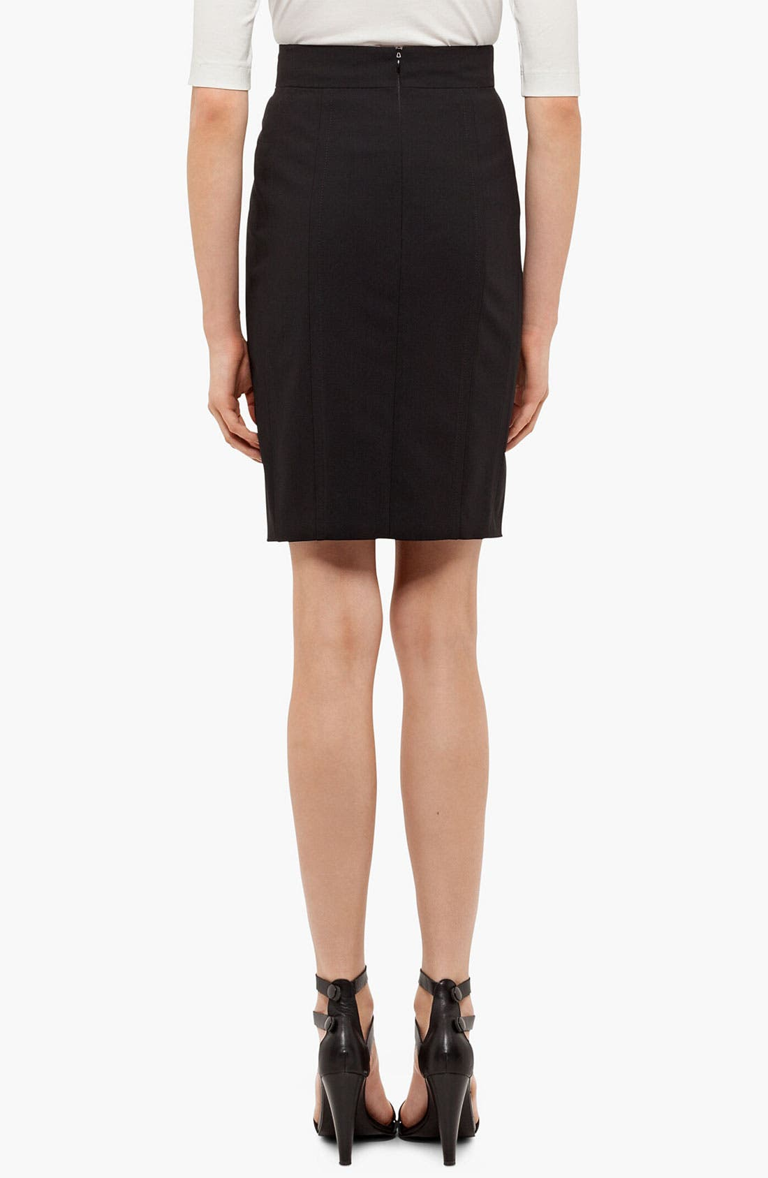 Alternate Image 2  - Akris punto Wool Pencil Skirt
