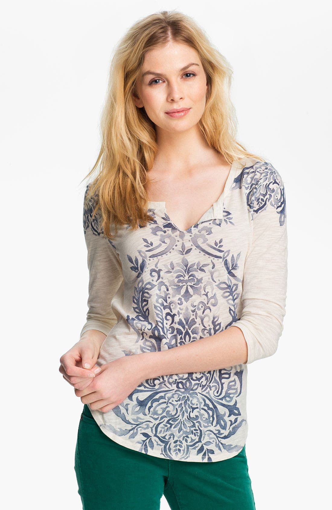Main Image - Lucky Brand 'Riad Motif' Tee