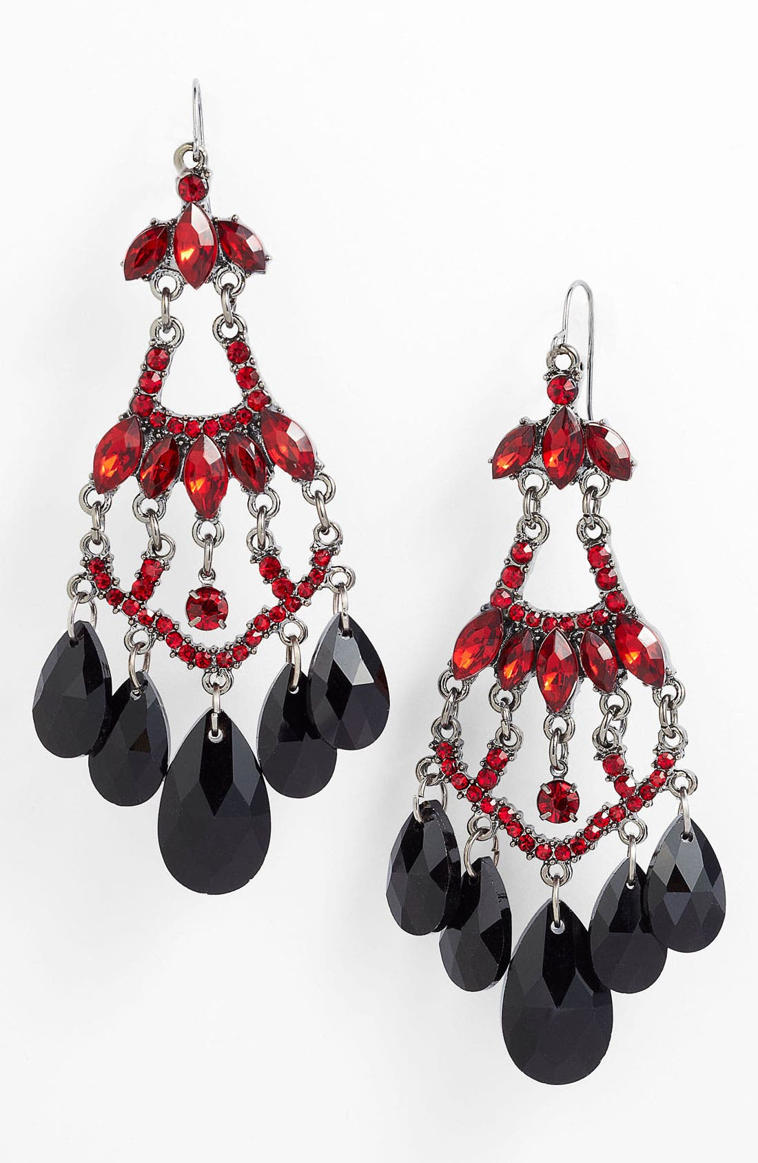 Alternate Image 1 Selected - Spring Street Chandelier Earrings