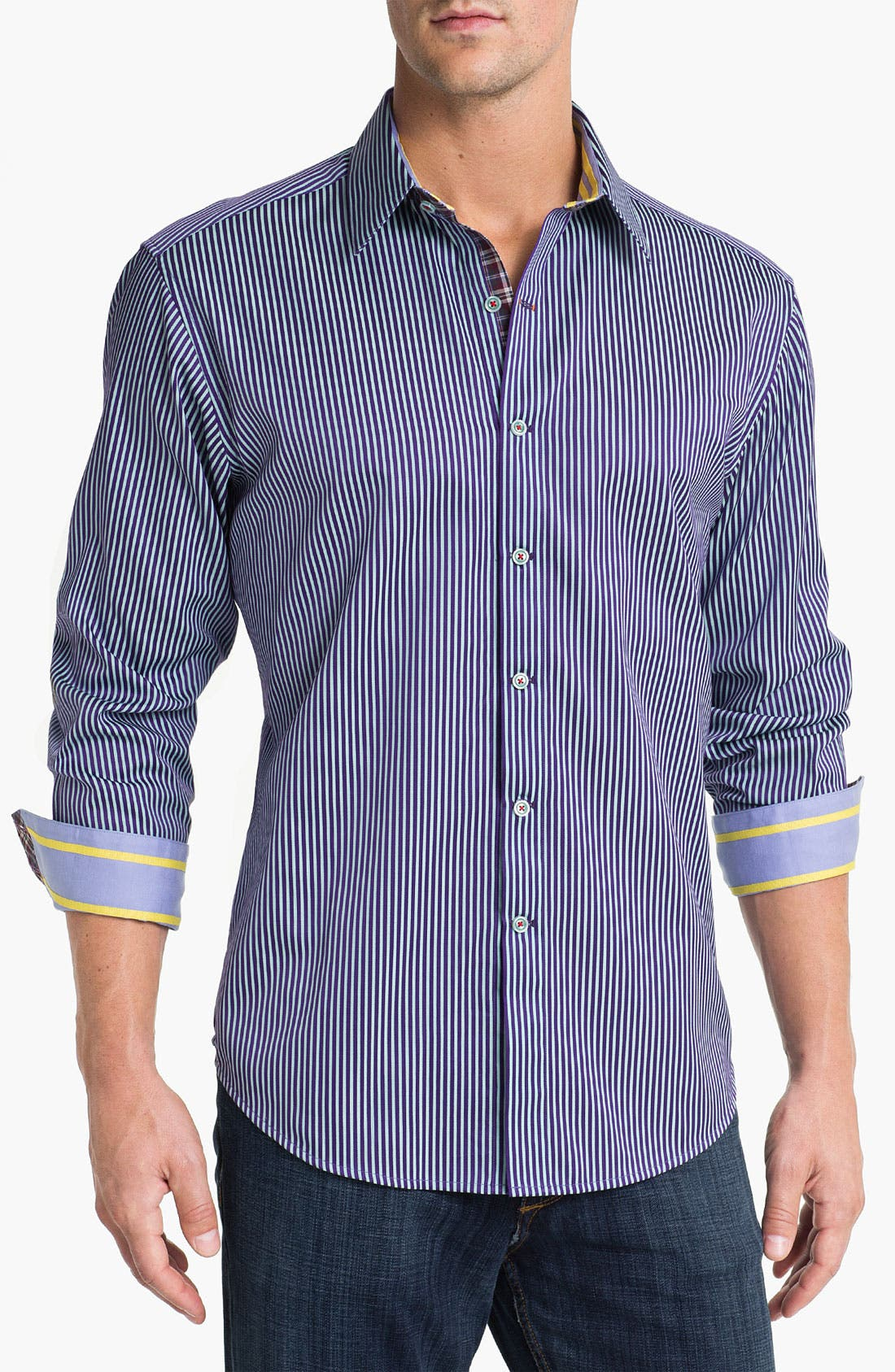 Alternate Image 1 Selected - Robert Graham 'X Collection - Two-Fer' Sport Shirt