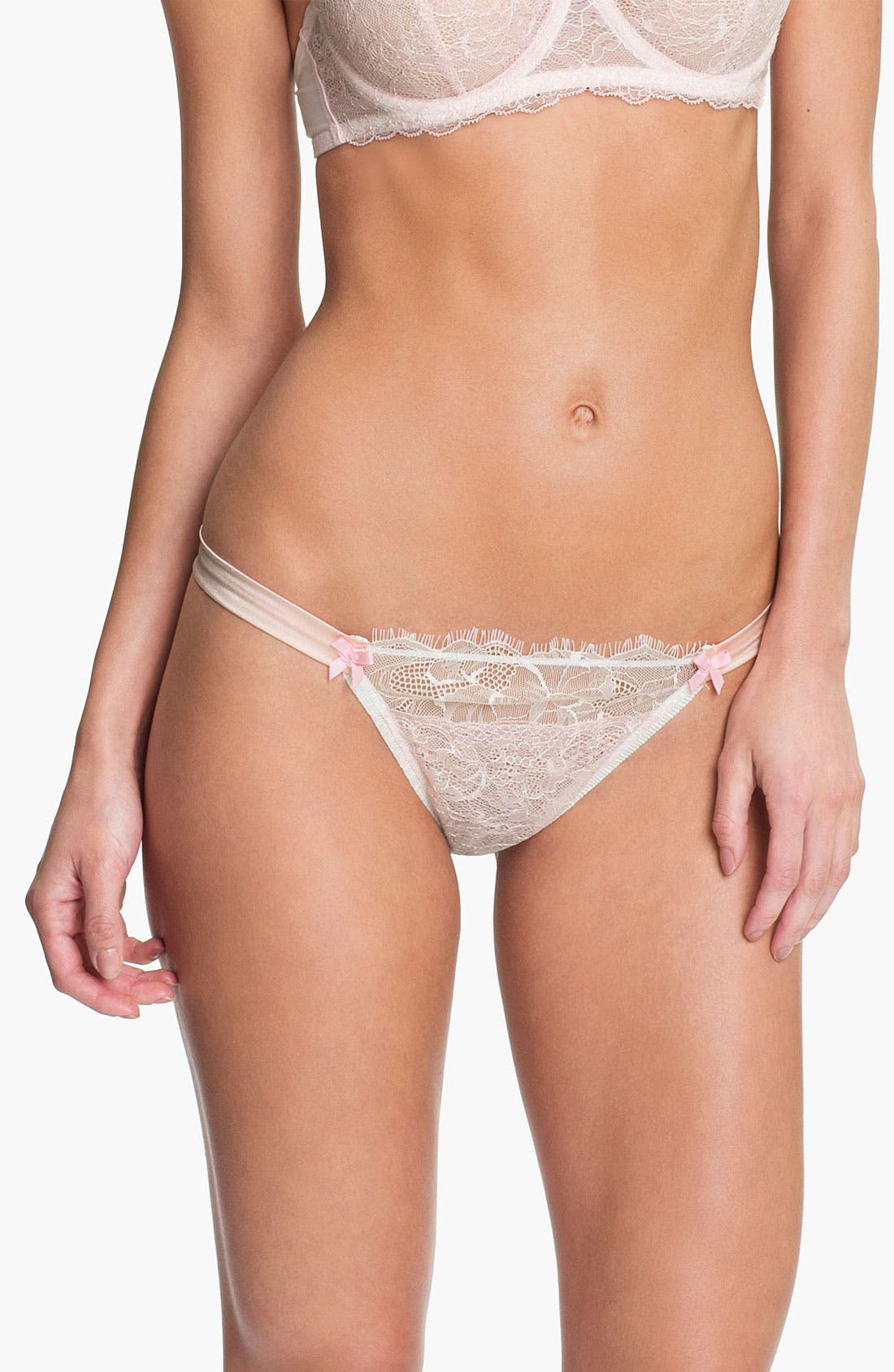 Alternate Image 1 Selected - Mimi Holliday 'Blossom' Thong