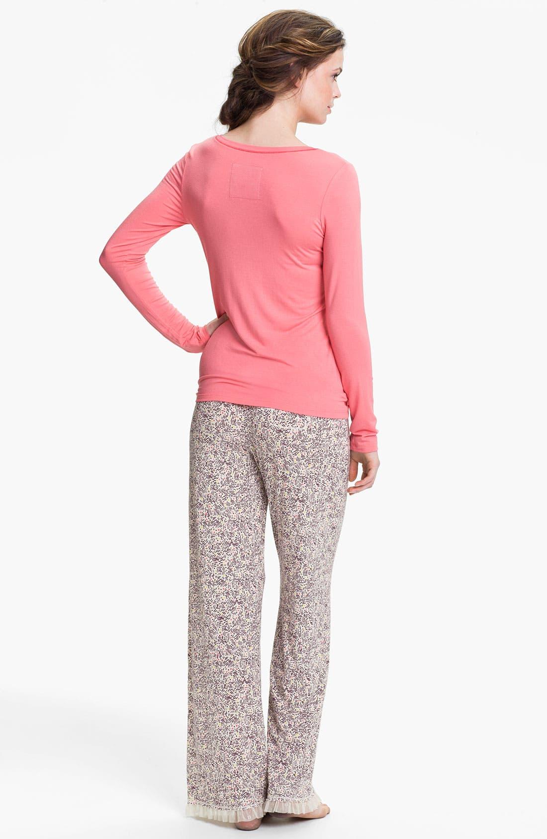 Alternate Image 3  - Kensie 'Starry Eyes' Lounge Pants