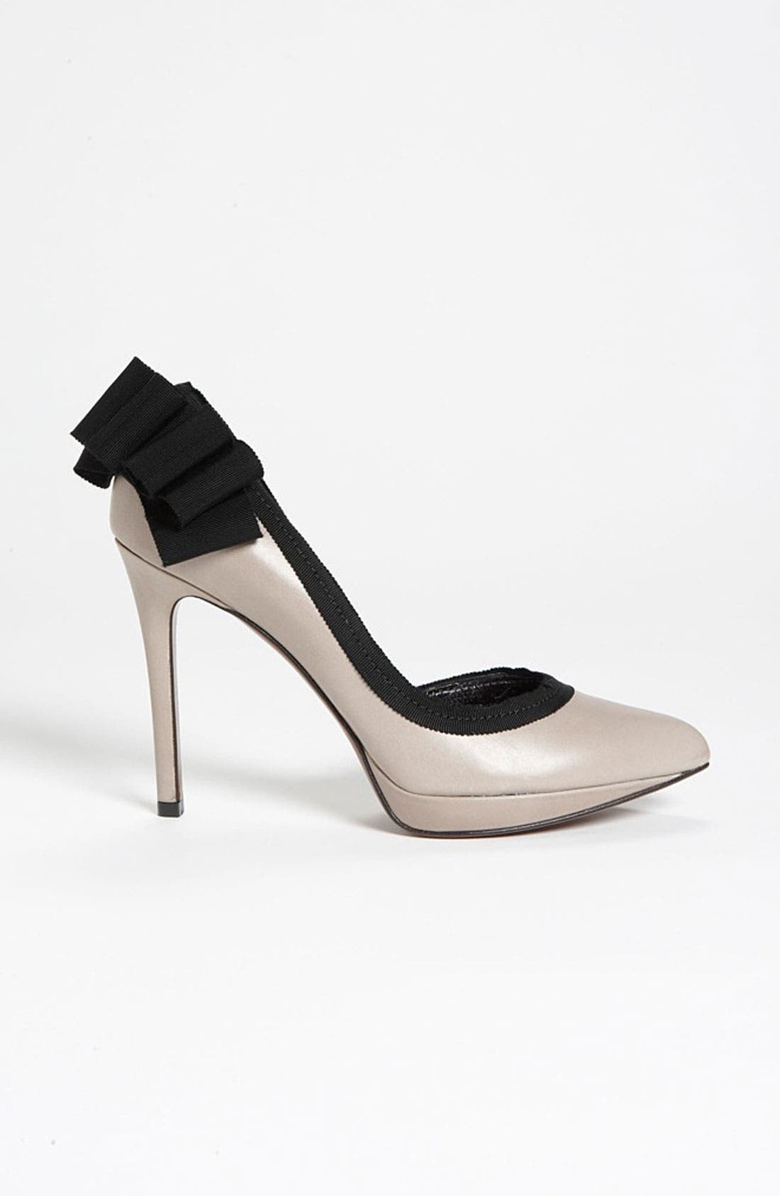 Alternate Image 4  - Lanvin Grosgrain Bow Pump