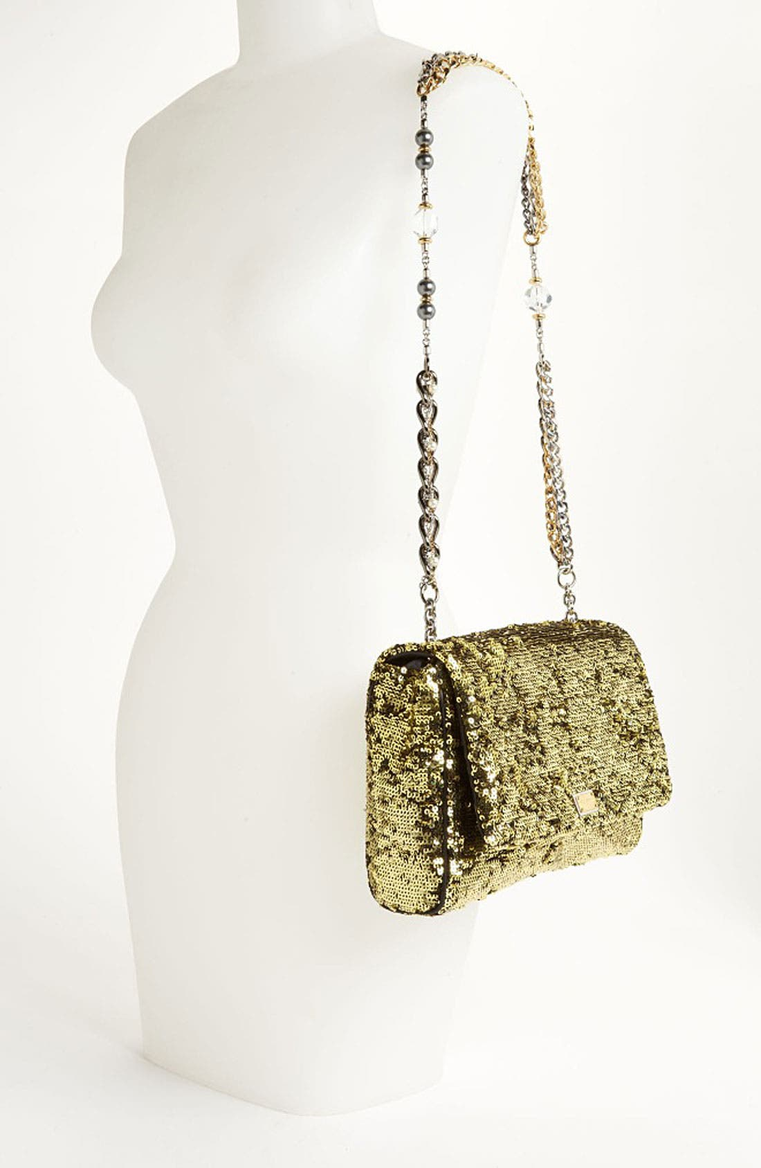 Alternate Image 2  - Dolce&Gabbana 'Miss Charles' Sequin Shoulder Bag