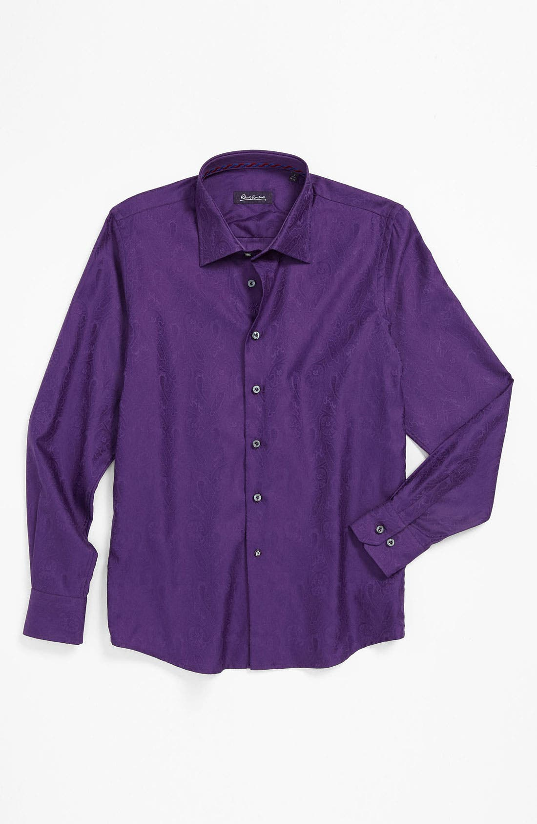 Main Image - Robert Graham 'Clayton' Dress Shirt (Big Boys)
