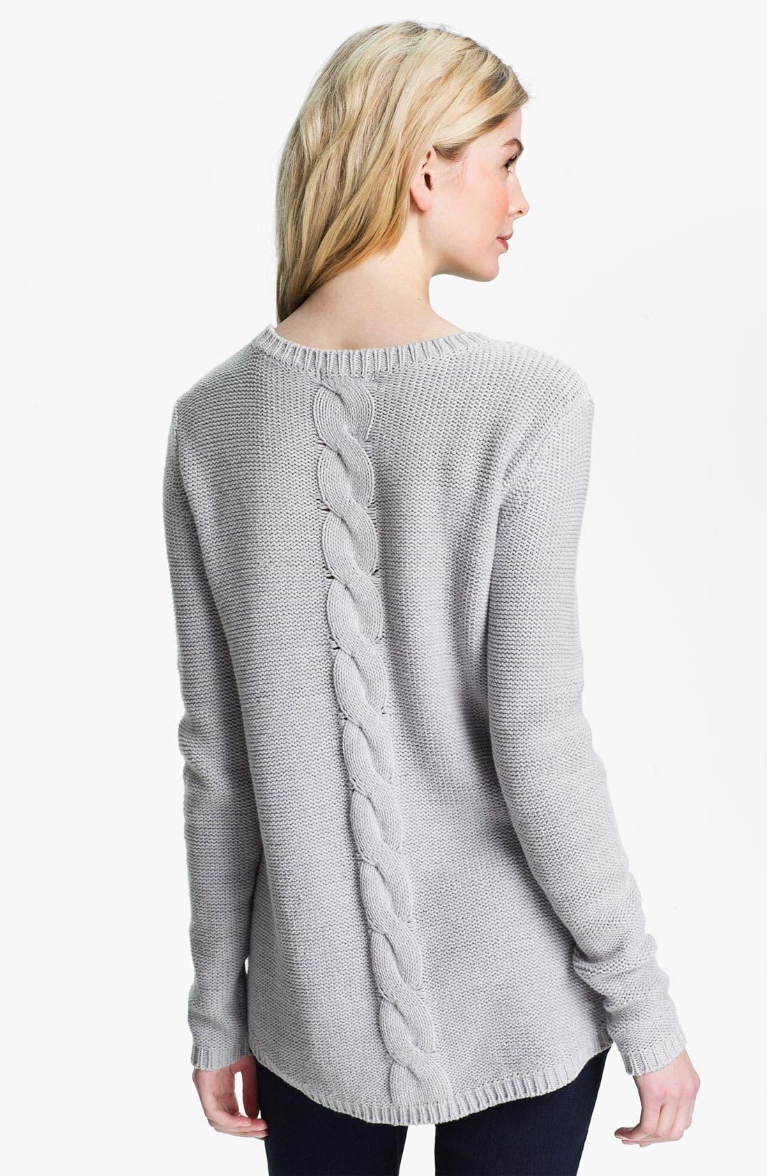 Alternate Image 1 Selected - Isaac Mizrahi Jeans 'Felicity' Sweater (Online Exclusive)