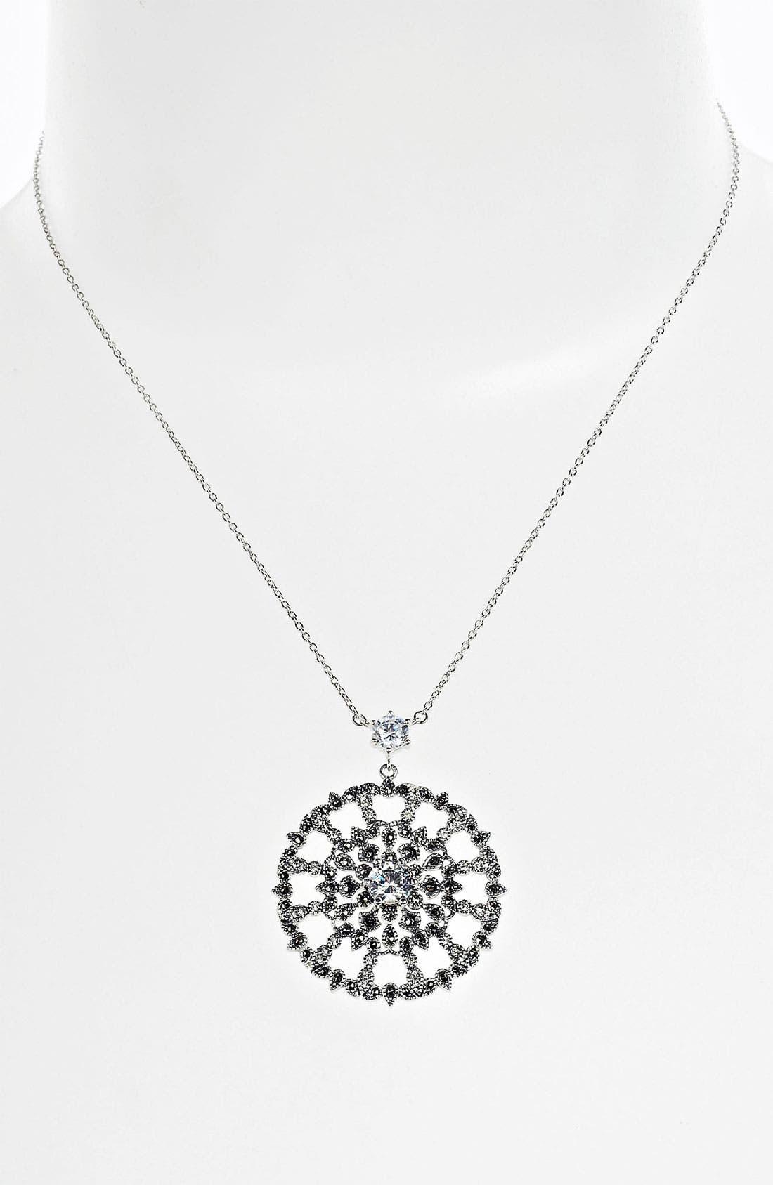 Main Image - Judith Jack 'Glamour' Pendant Necklace