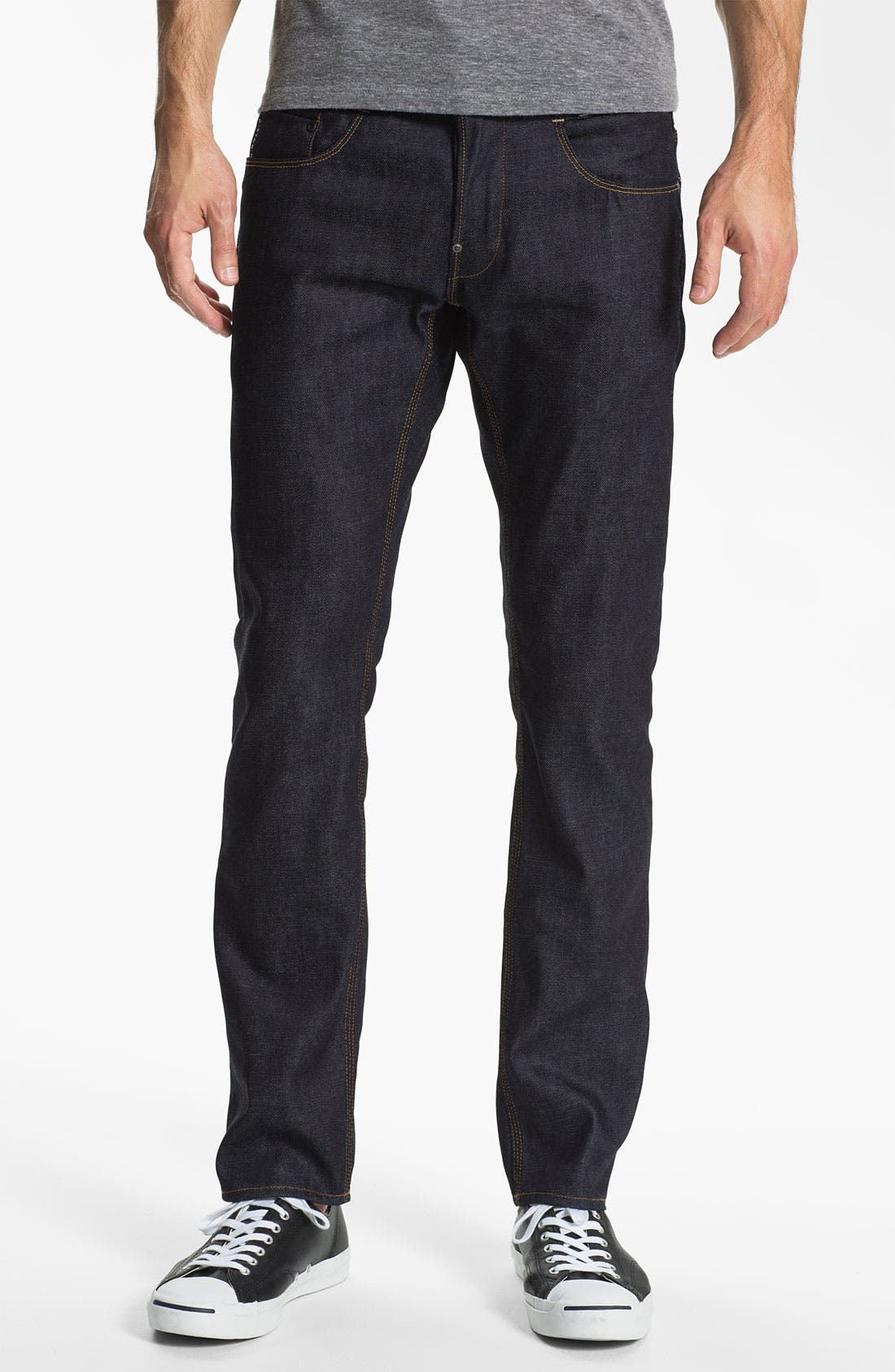 Alternate Image 2  - G-Star Raw 'New Radar' Slim Straight Leg Jeans (Rigid Raw)