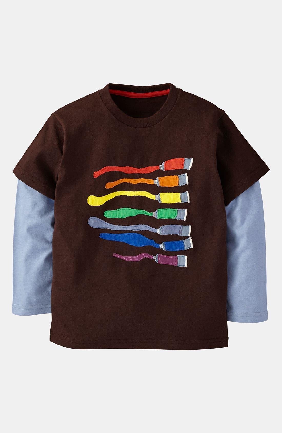 Alternate Image 1 Selected - Mini Boden 'Colorblast' T-Shirt (Toddler)