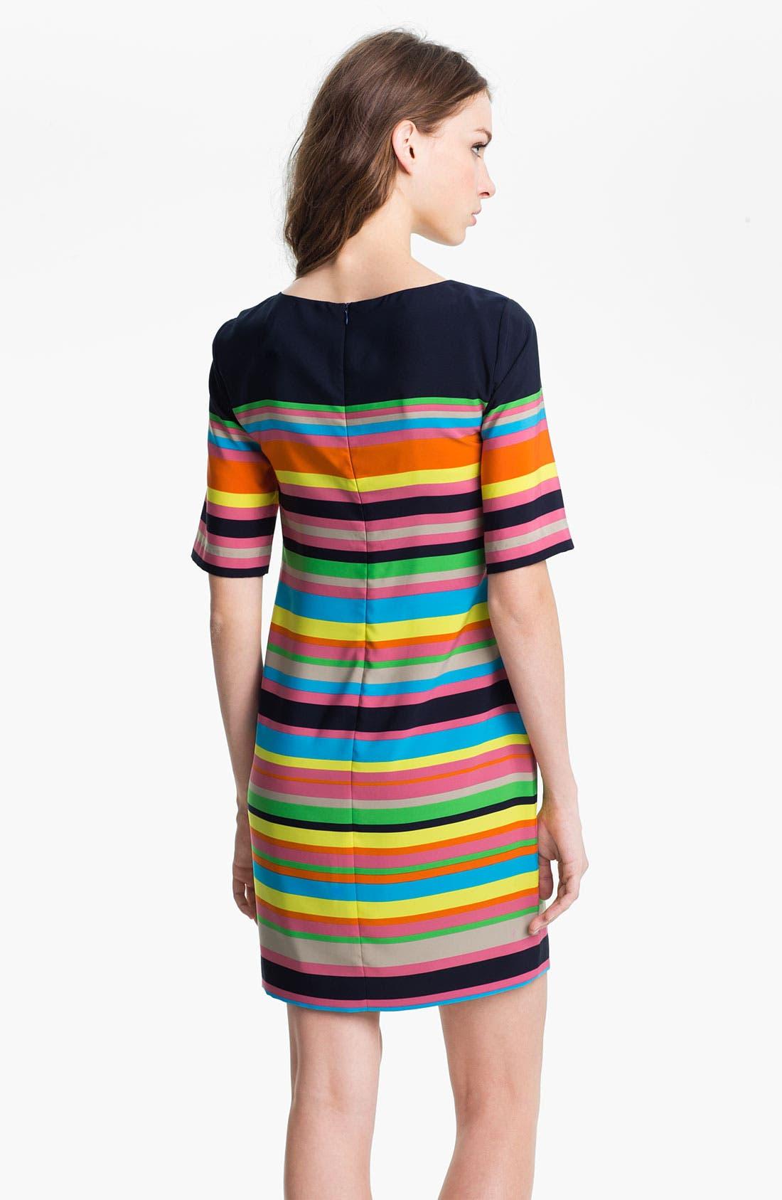 Alternate Image 2  - Trina Turk 'Flagimi' Stripe Shift Dress