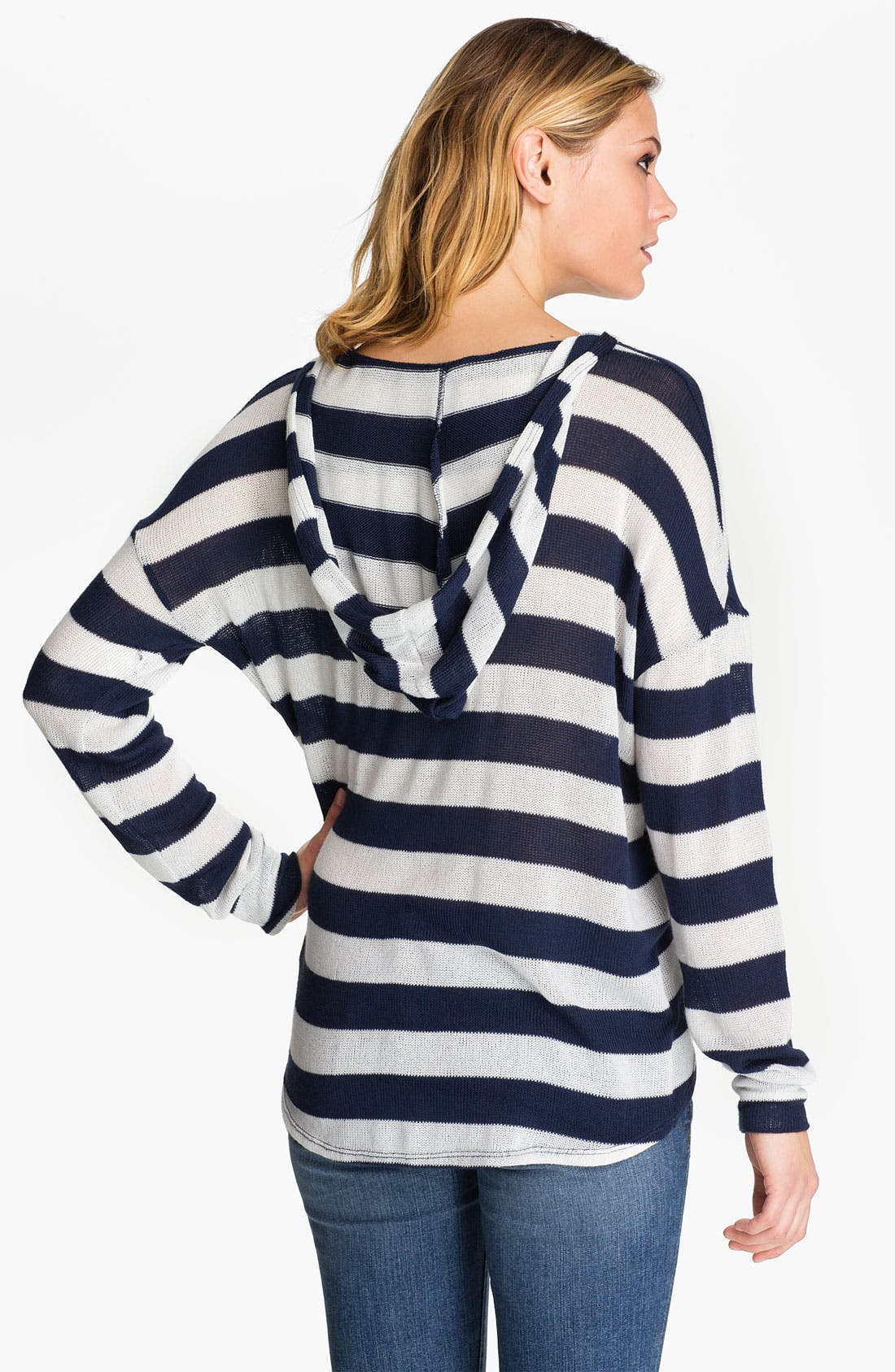 Alternate Image 2  - Soft Joie 'Erickson' Stripe Hooded Sweater