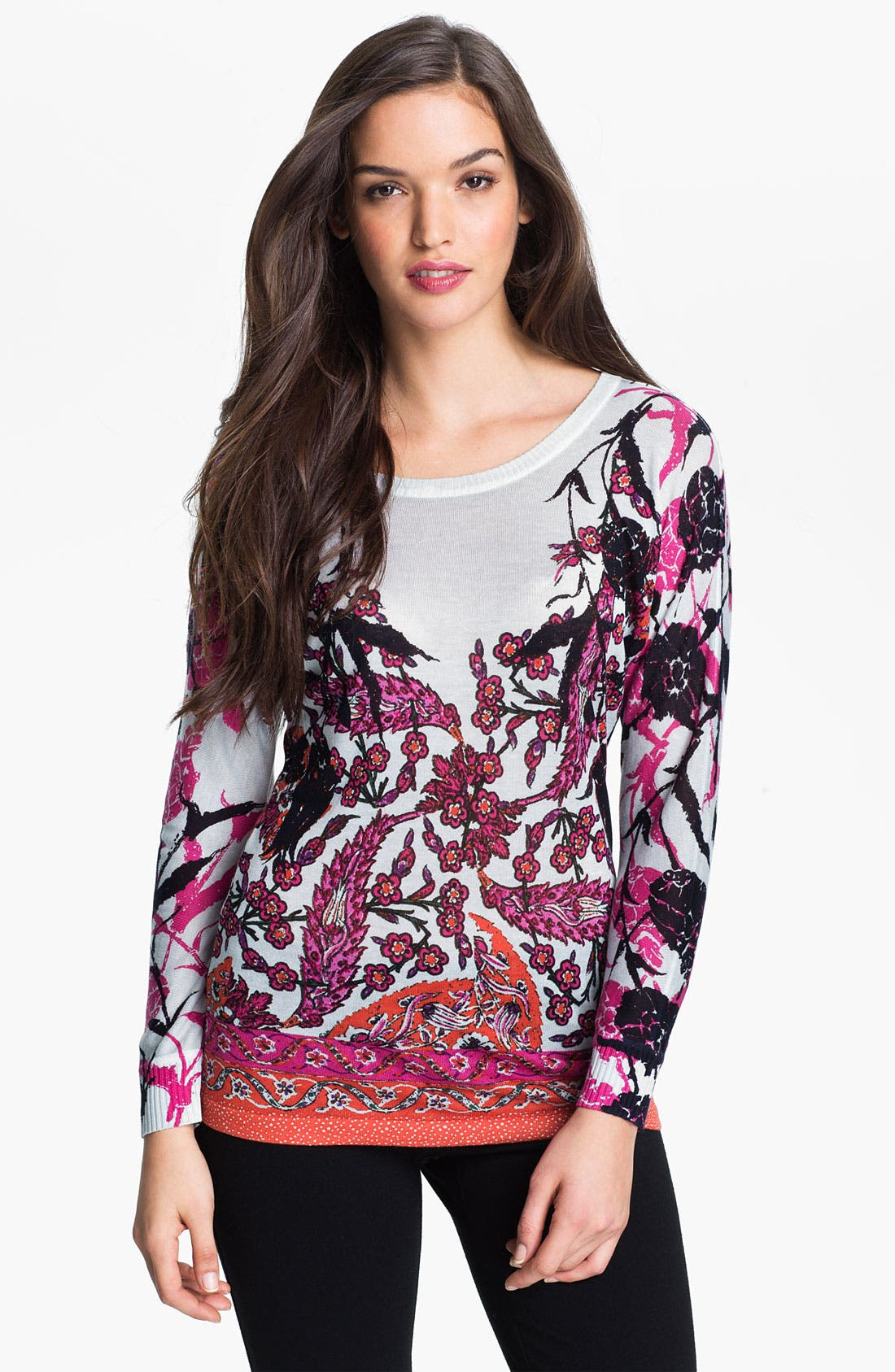 Alternate Image 1 Selected - Nic + Zoe 'Paradise' Print Top
