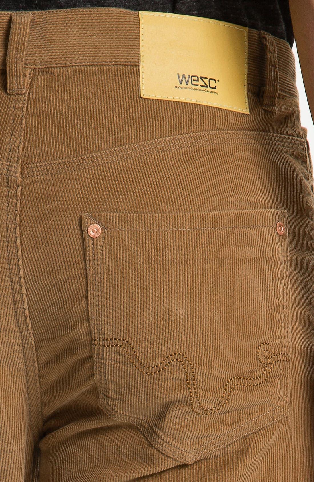 Alternate Image 3  - WeSC 'Eddy' Slim Fit Corduroy Pants