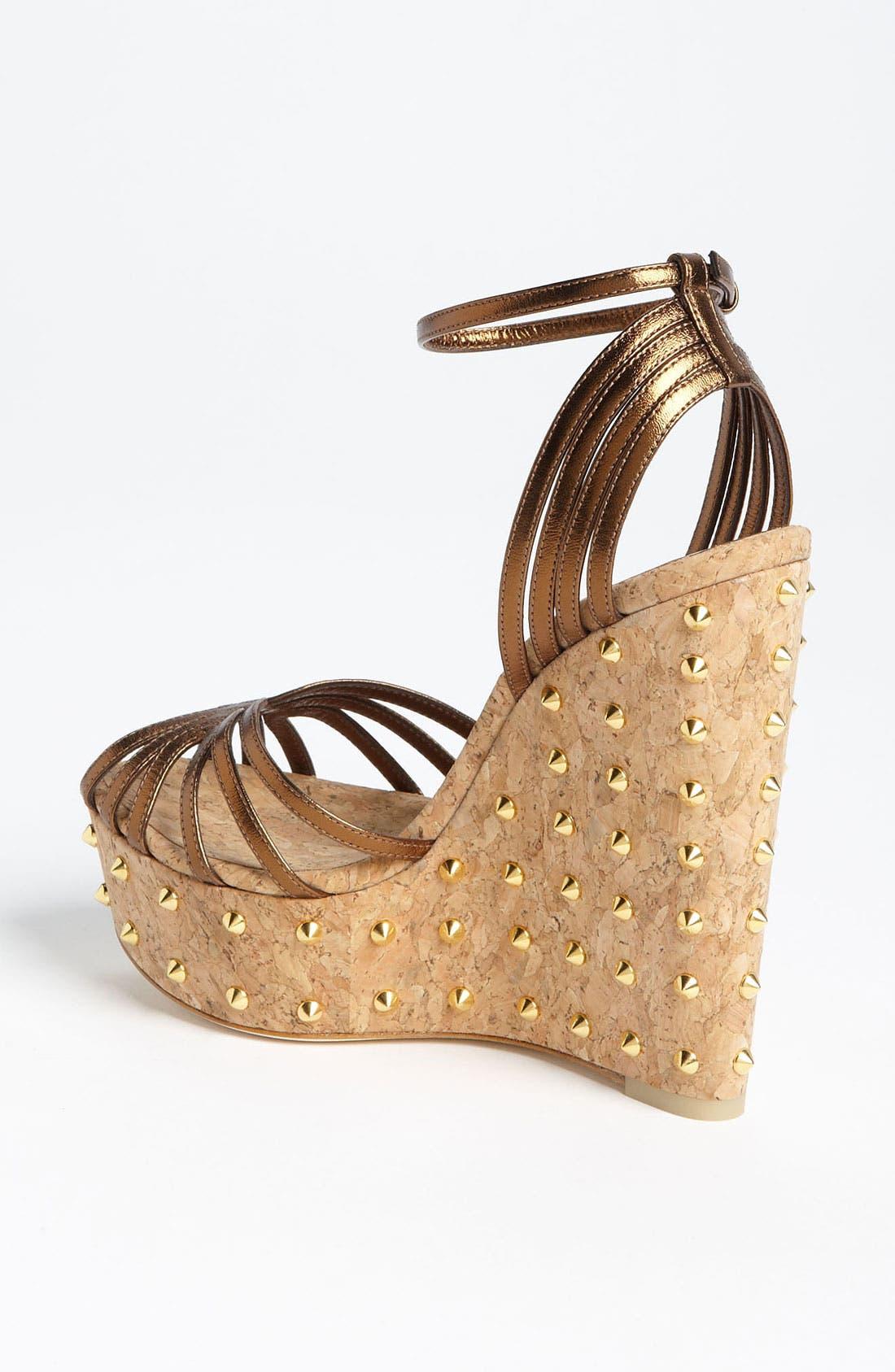 Alternate Image 2  - Gucci 'Cecyl' Wedge Sandal
