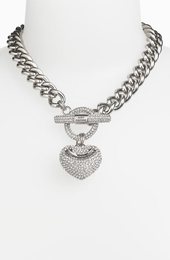 Juicy couture heart pendant necklace nordstrom main image juicy couture heart pendant necklace aloadofball Gallery