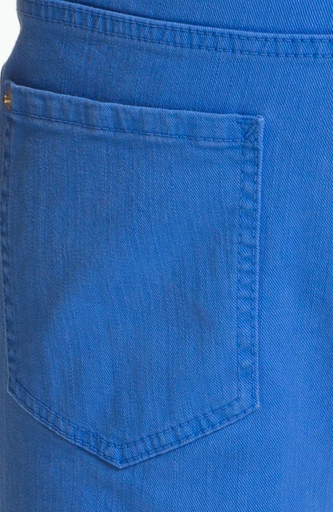 Alternate Image 4  - Dsquared2 Garment Dyed Slim Fit Jeans