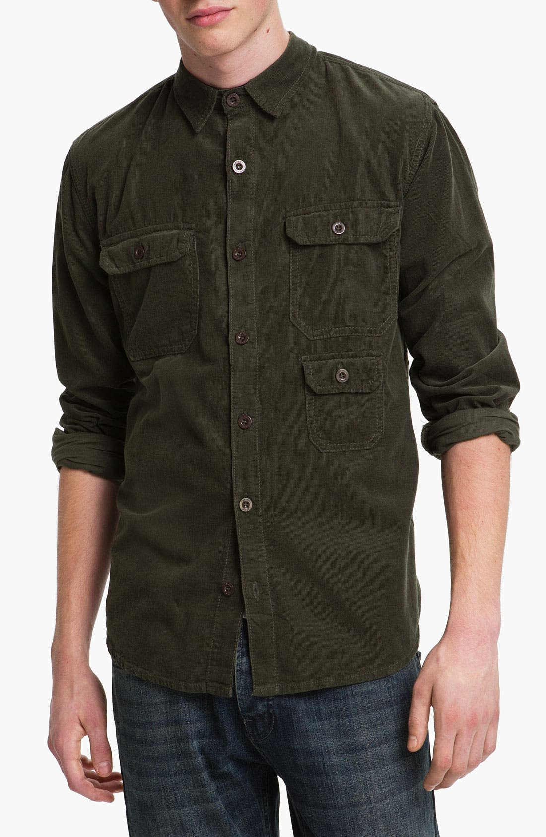 Main Image - Ezekiel 'Corky' Corduroy Shirt