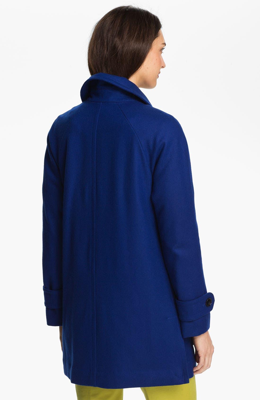 Alternate Image 2  - Ellen Tracy Stadium Coat with Liner (Nordstrom Exclusive)