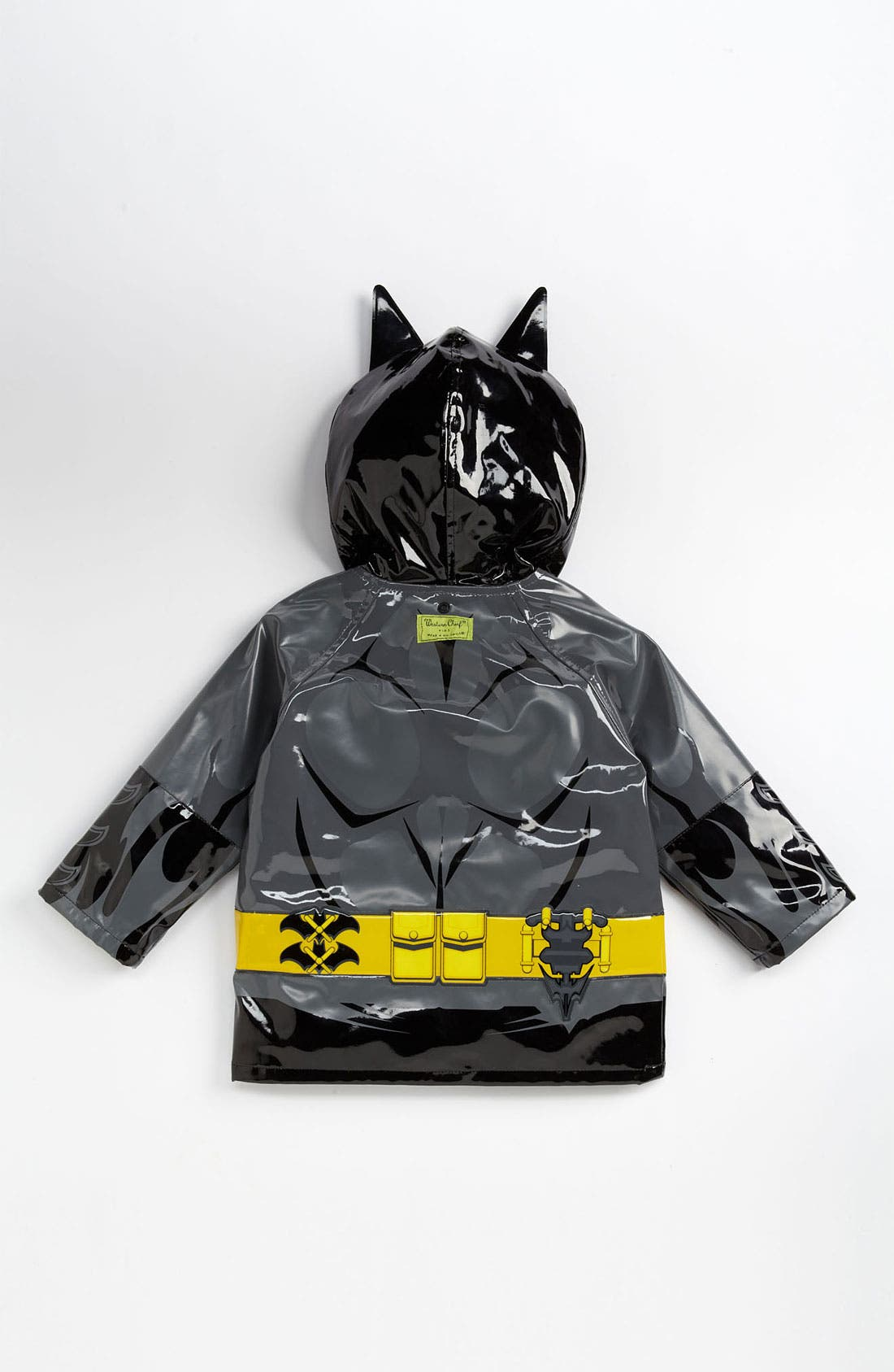 Alternate Image 3  - Western Chief 'Batman Everlasting' Light-Up Rain Coat (Toddler, Little Boys & Big Boys)