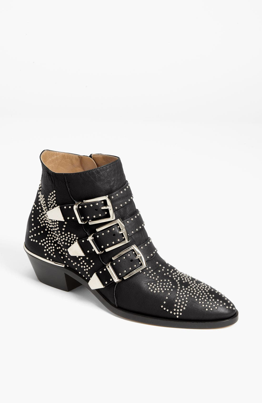 Alternate Image 1 Selected - Chloé 'Suzanna' Stud Buckle Bootie