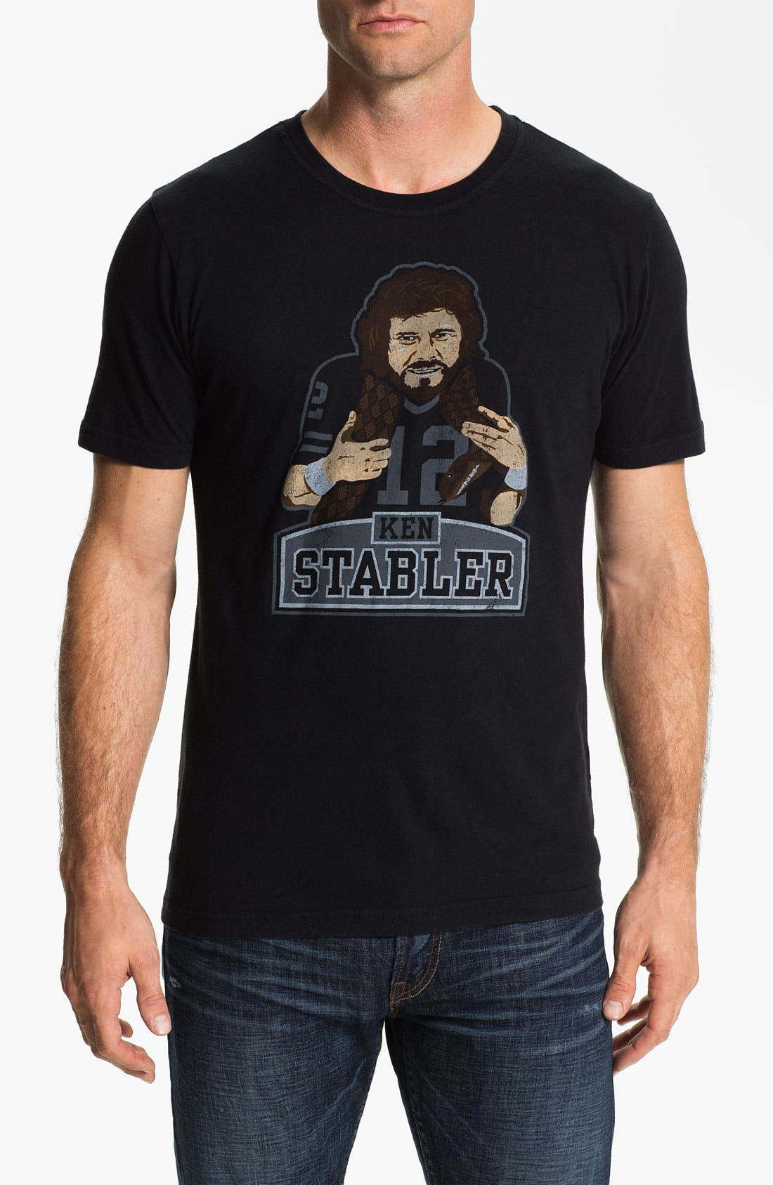 Alternate Image 1 Selected - Red Jacket 'Hyperbole - Ken Stabler' T-Shirt