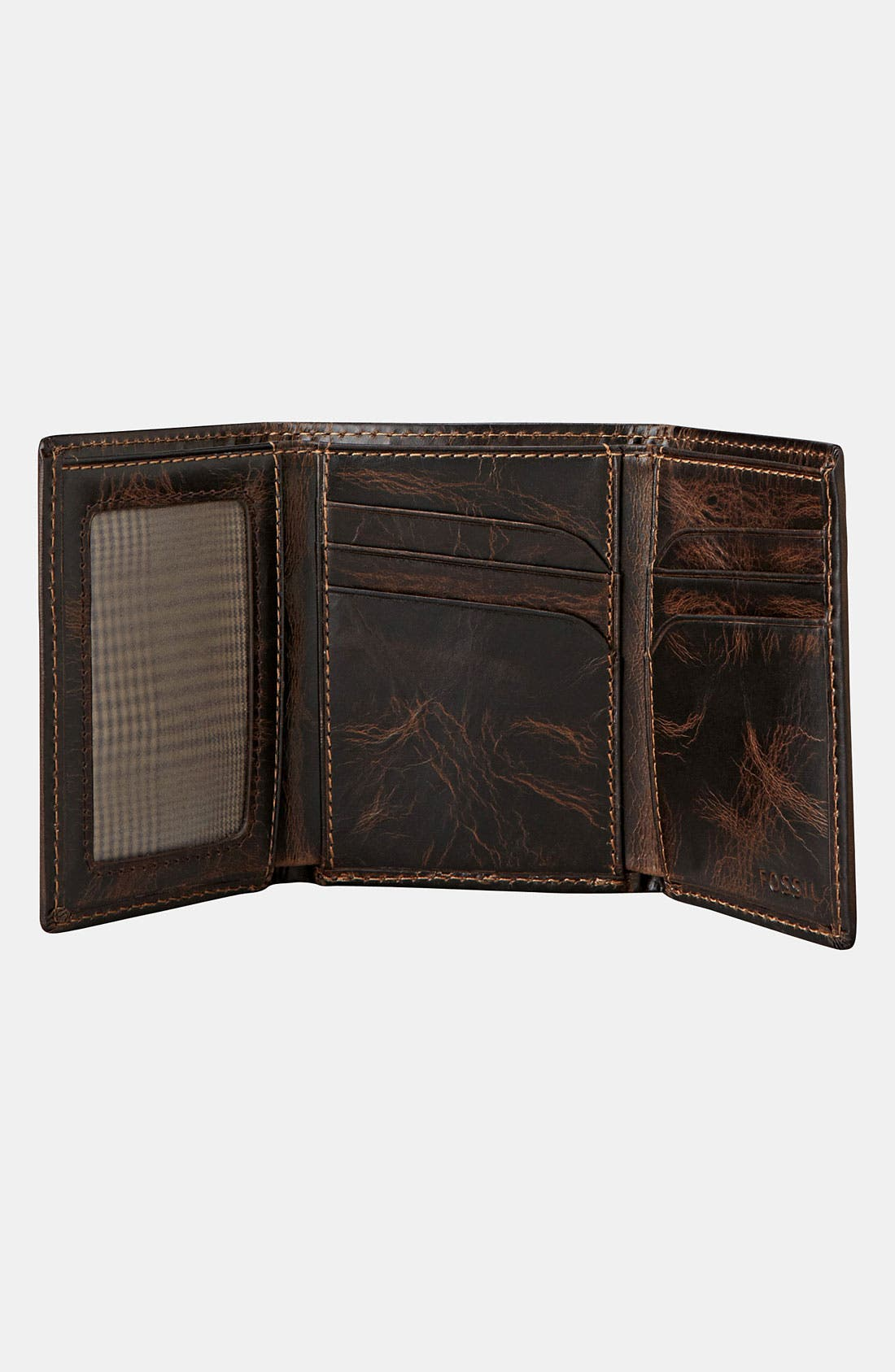 Alternate Image 3  - Fossil 'Norton' Trifold Wallet