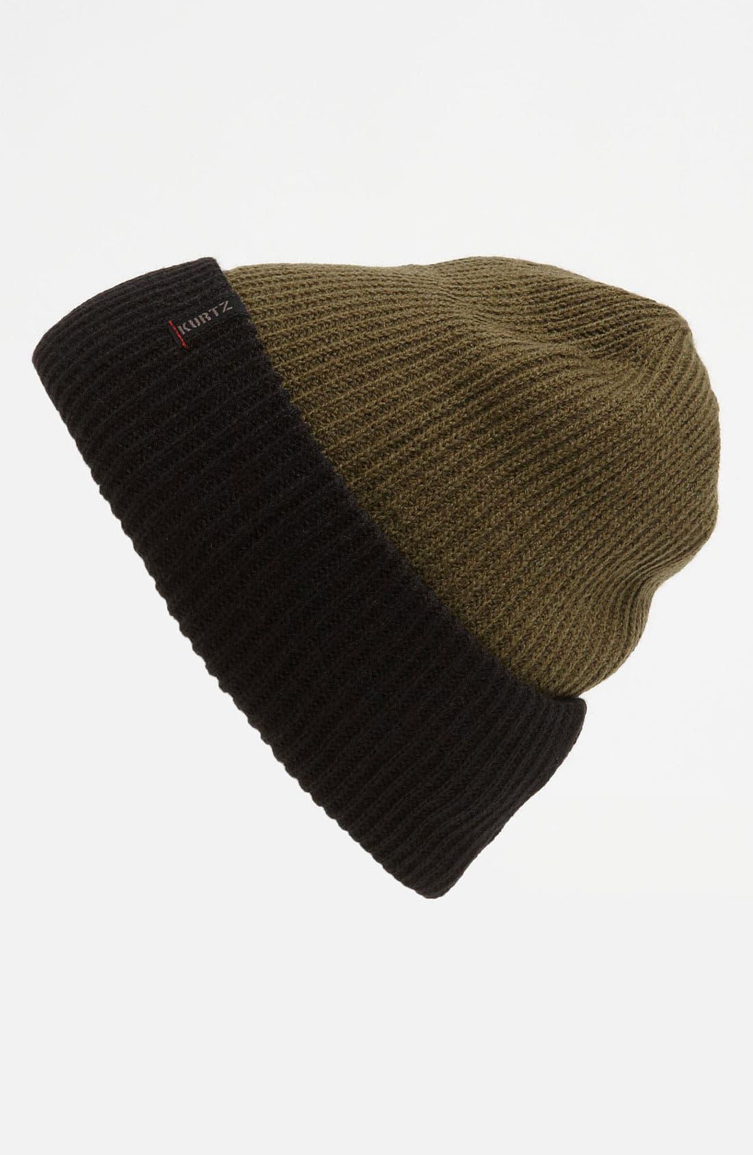 Main Image - A. Kurtz 'Wayne' 4-in-1 Reversible Wool Blend Beanie