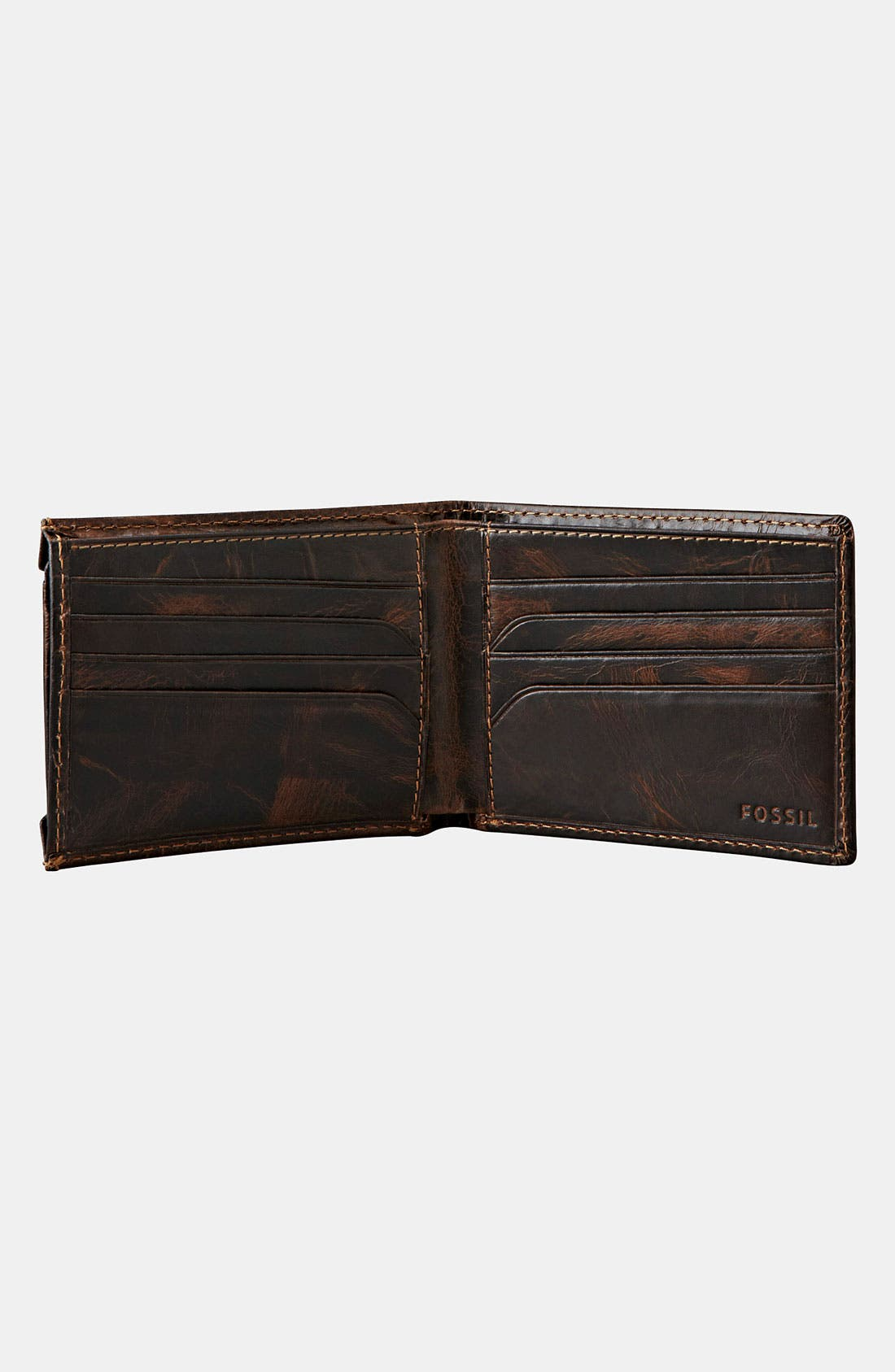 Alternate Image 3  - Fossil 'Norton' Wallet with Sliding ID Window