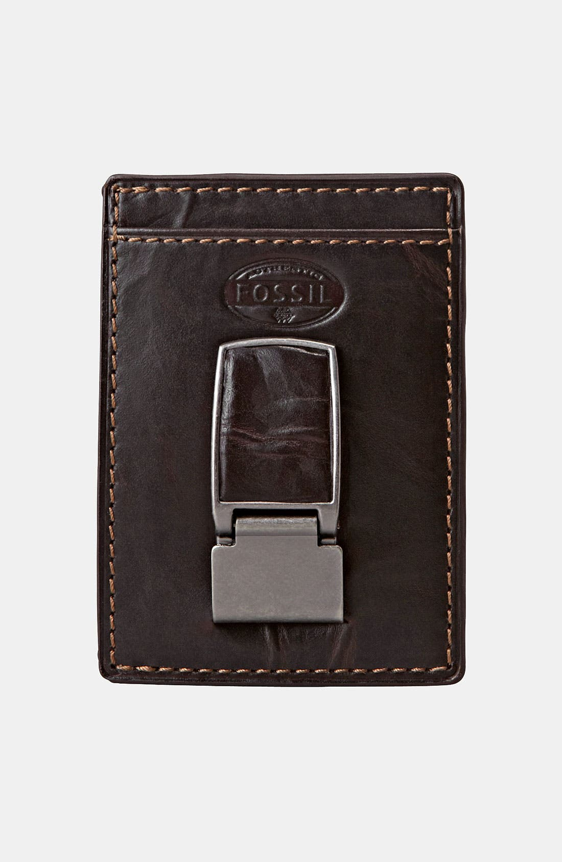 Alternate Image 1 Selected - Fossil 'Norton' Money Clip Wallet