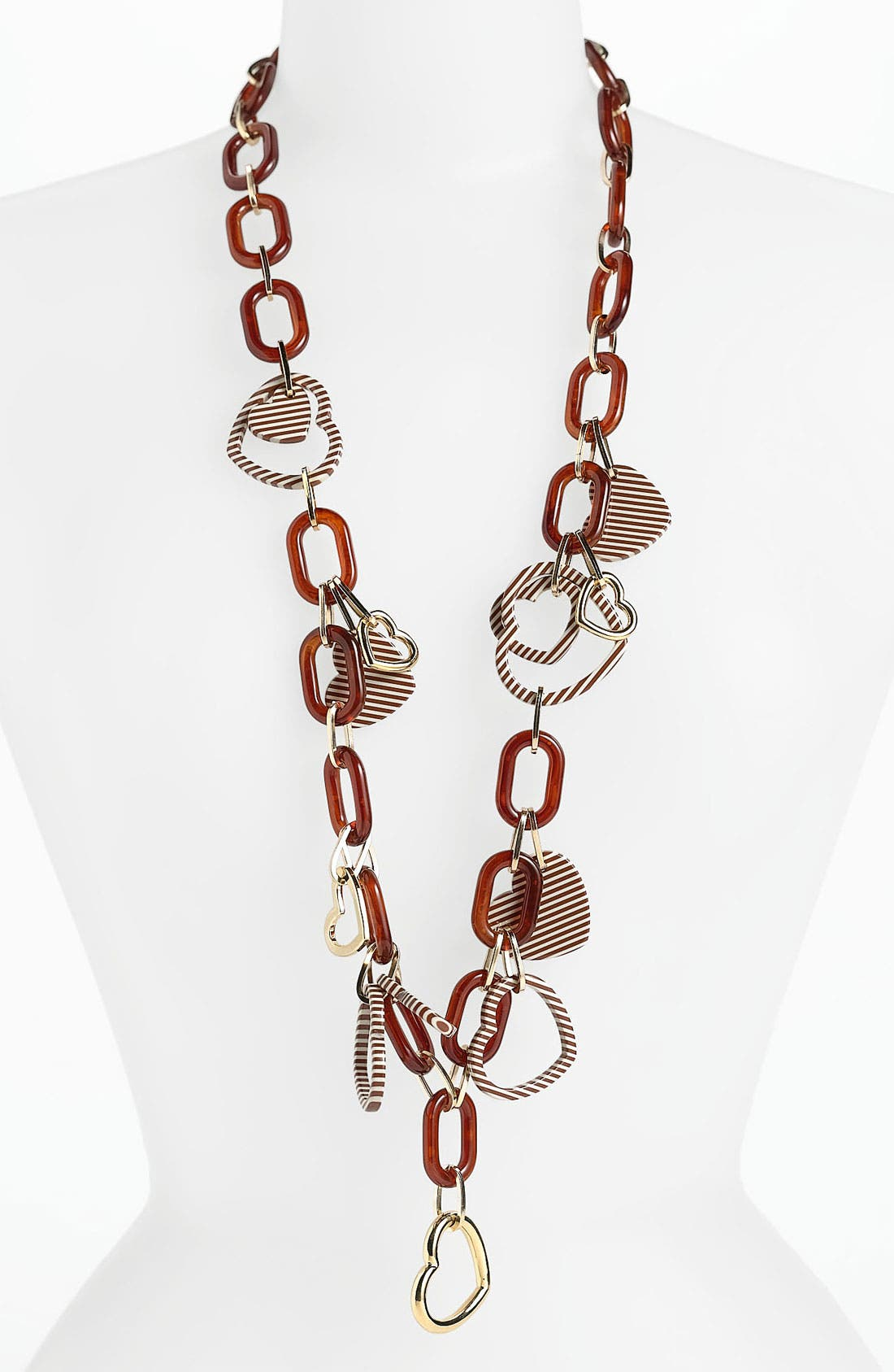 Alternate Image 1 Selected - Tory Burch 'Timo' Long Link Necklace