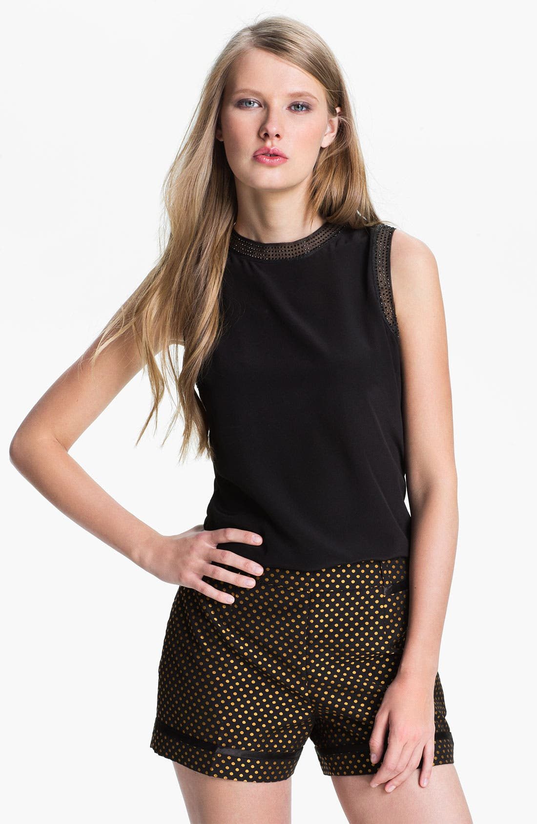 Alternate Image 1 Selected - Ted Baker London Beaded Top