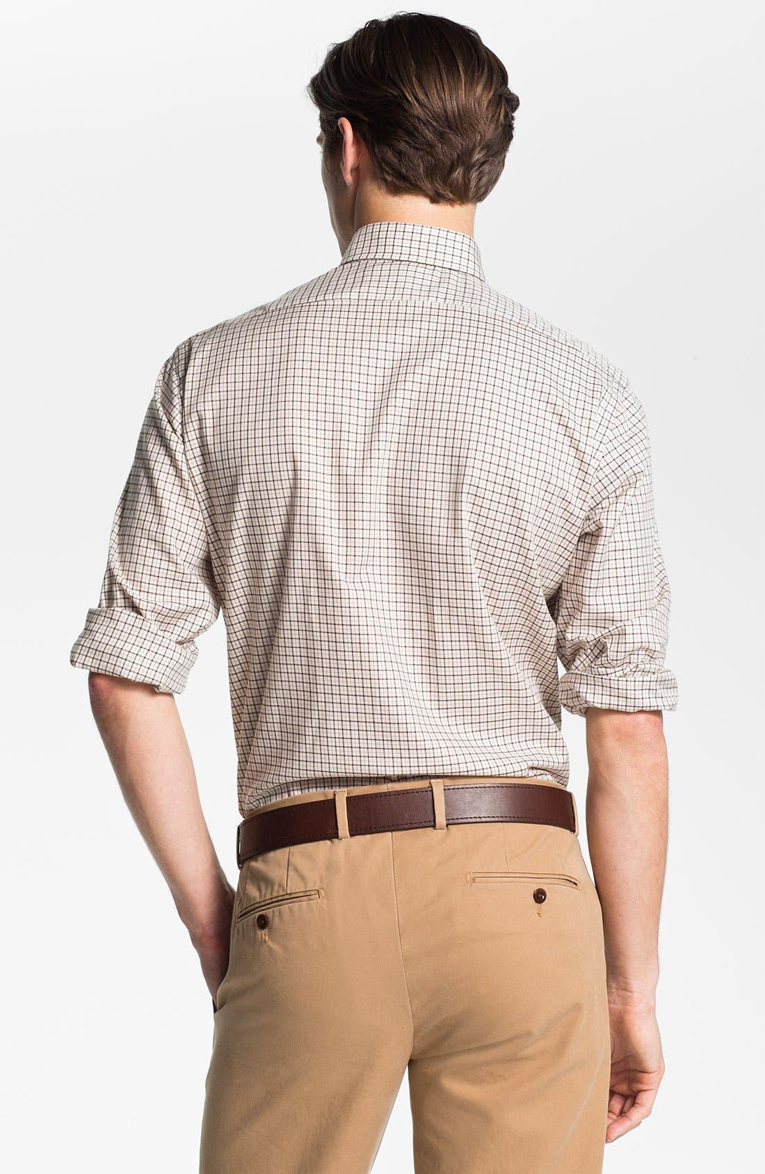 Alternate Image 2  - Polo Ralph Lauren Custom Fit Poplin Sport Shirt