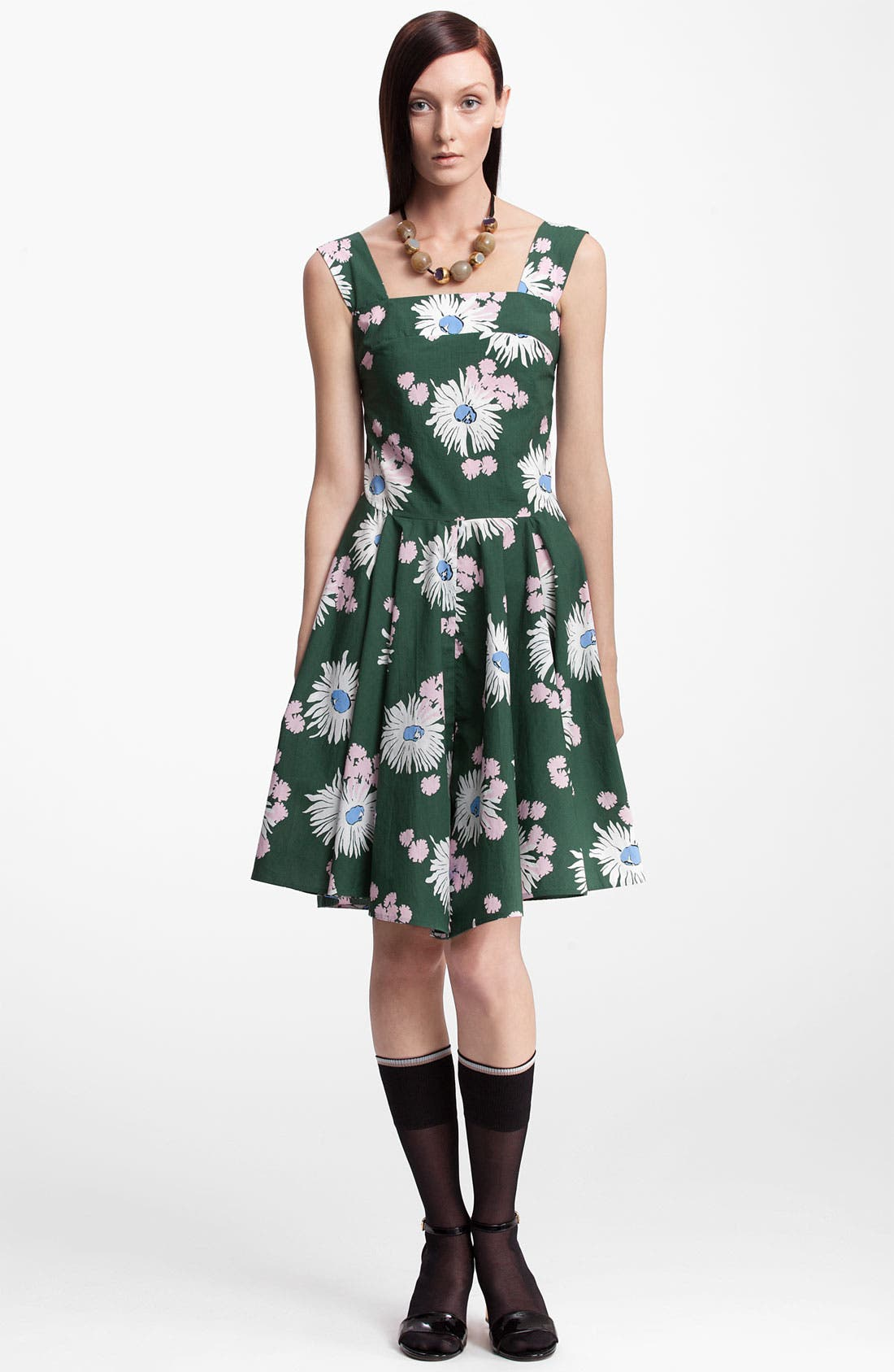 Alternate Image 1 Selected - Marni Floral Print Dress