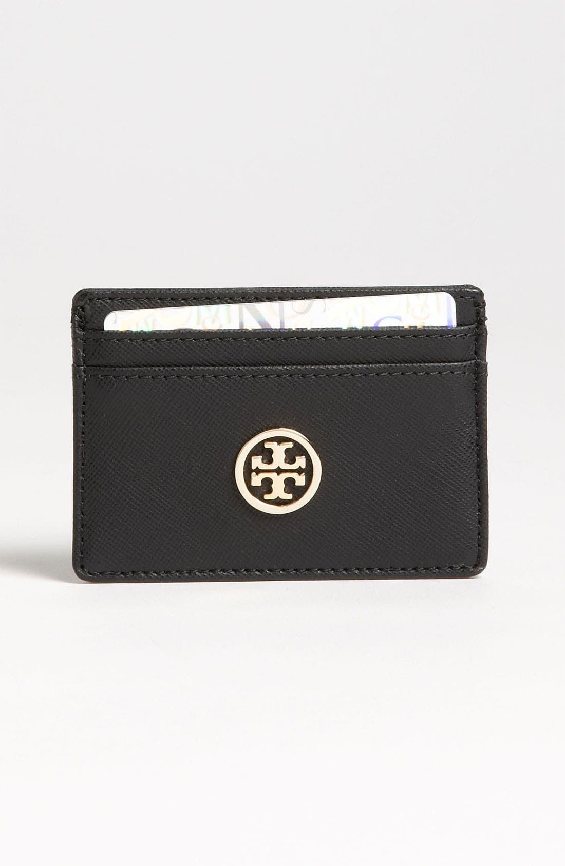 Main Image - Tory Burch 'Robinson' Slim Card Case