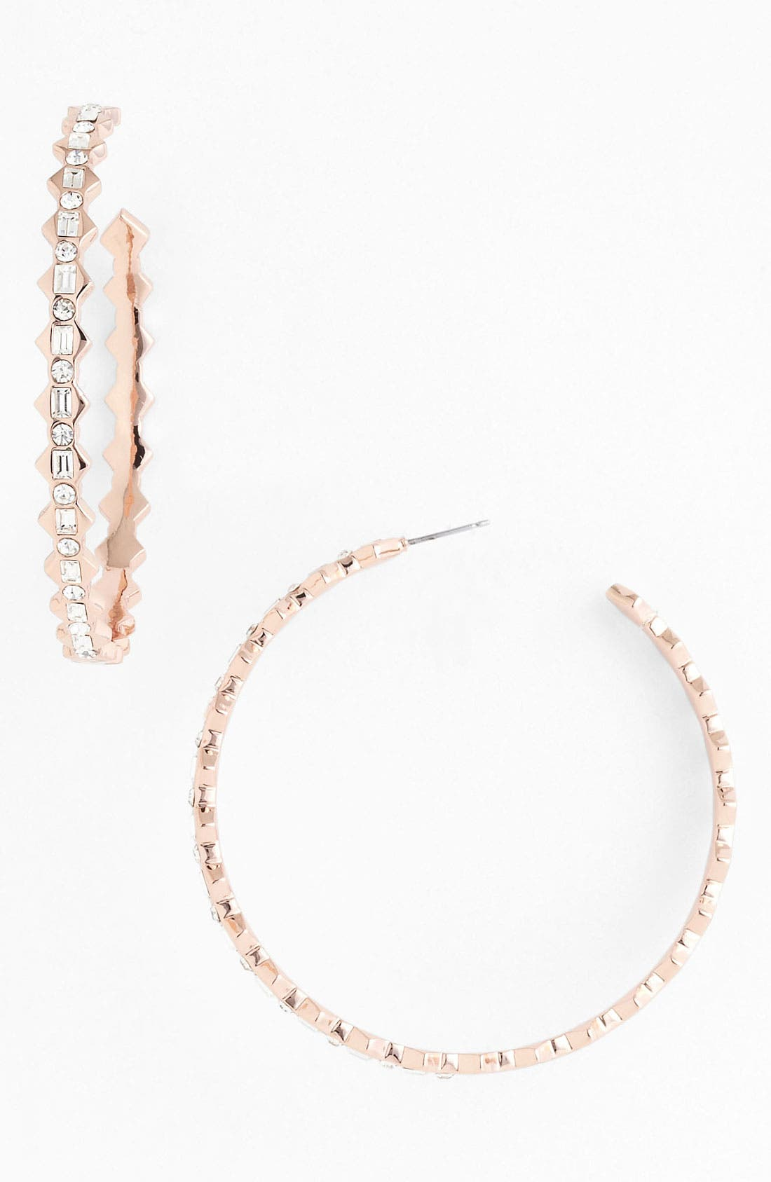 Main Image - Vince Camuto 'Speakeasy' Large Hoop Earrings