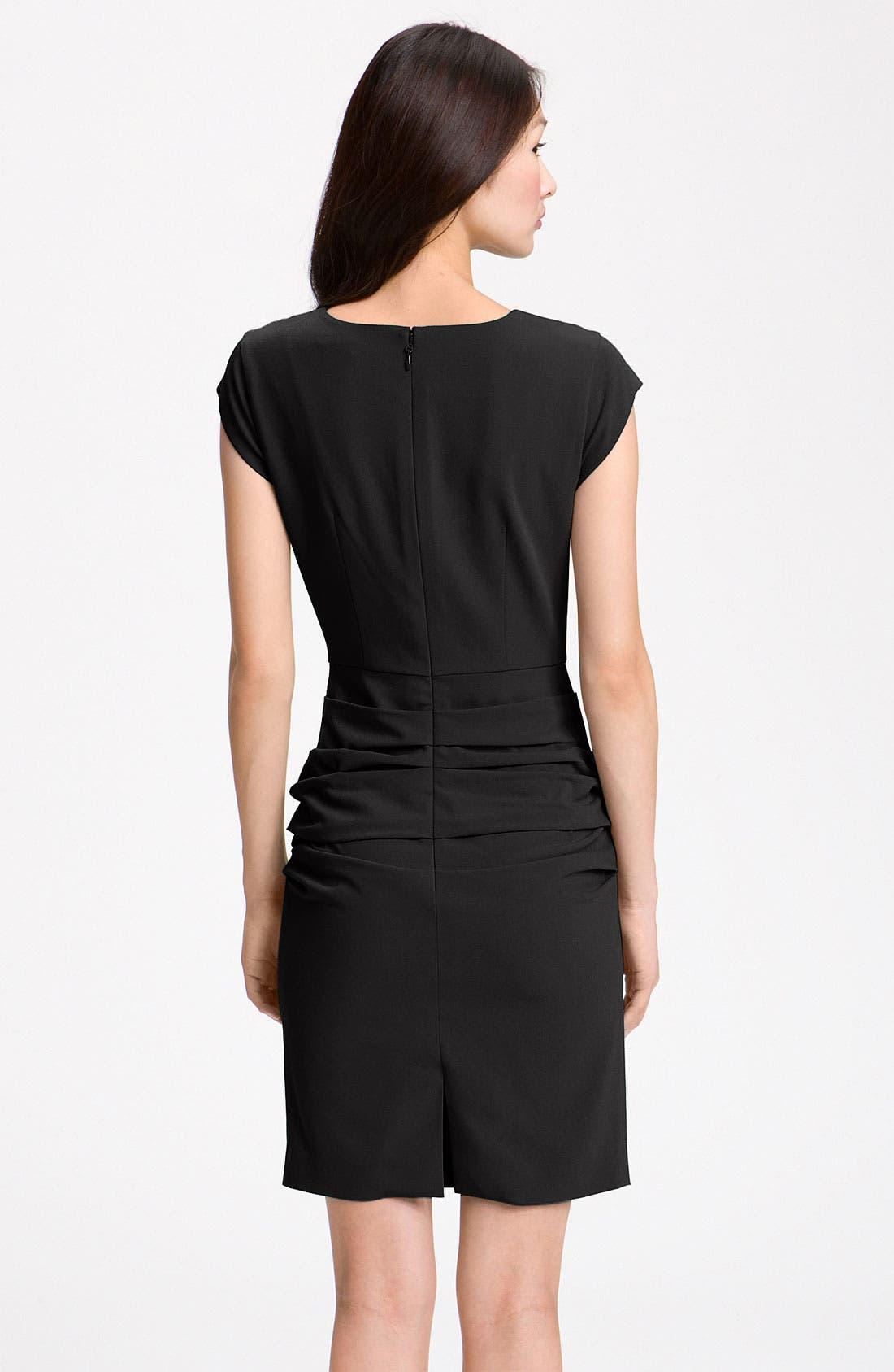 Alternate Image 2  - BCBGMAXAZRIA Cap Sleeve Sheath Dress